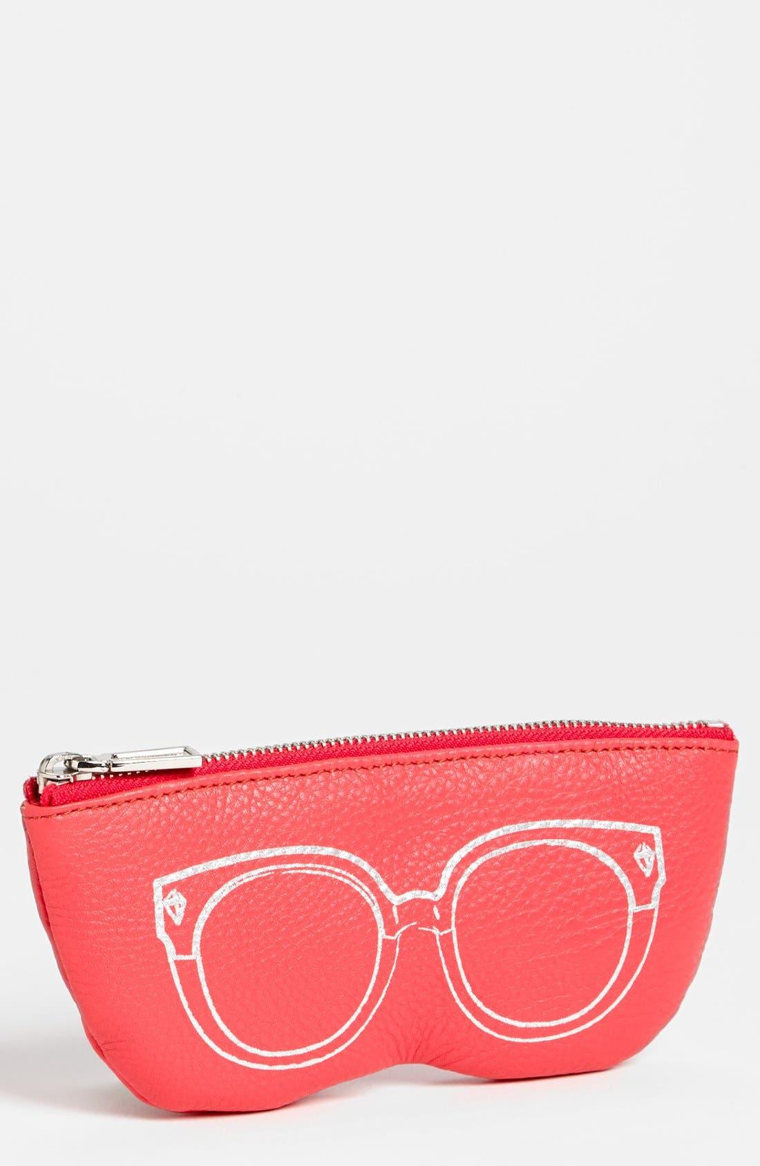 Alternate Image 1 Selected - Rebecca Minkoff Leather Sunglasses Case