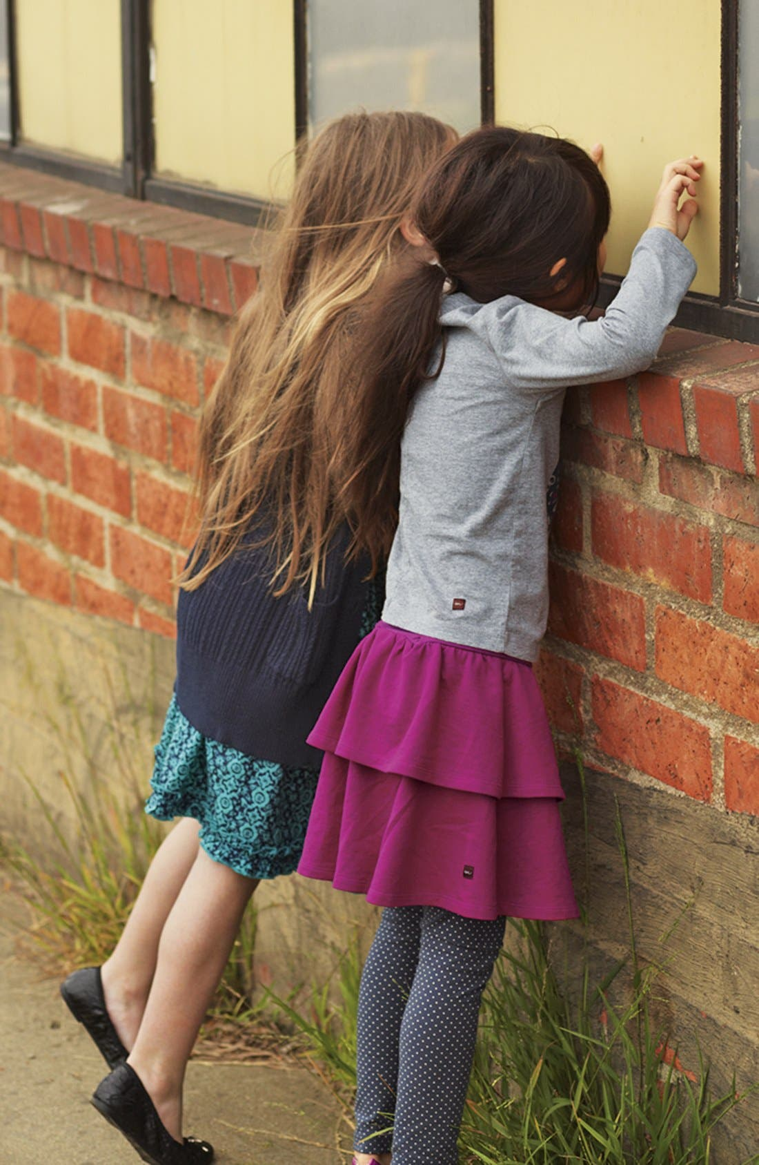 Alternate Image 3  - Tea Collection Polka Dot Stretch Leggings (Little Girls & Big Girls)