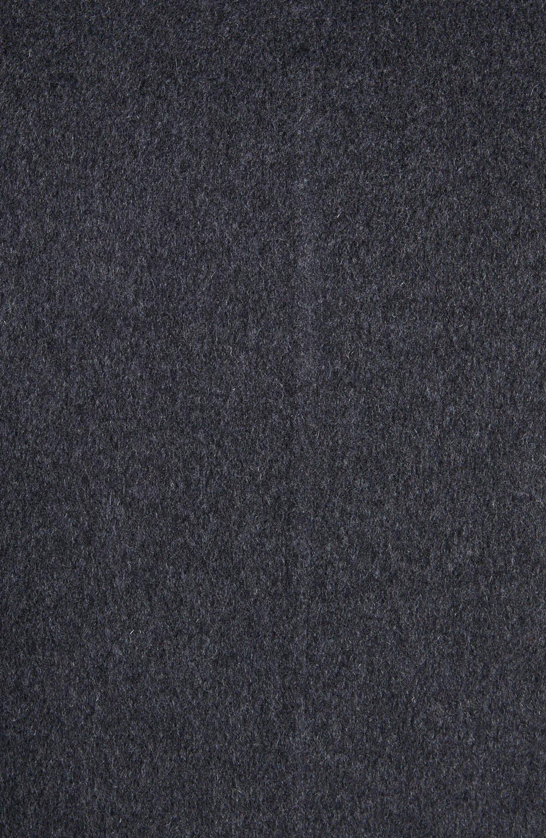 Alternate Image 3  - Jil Sander Three Button Wool Overcoat