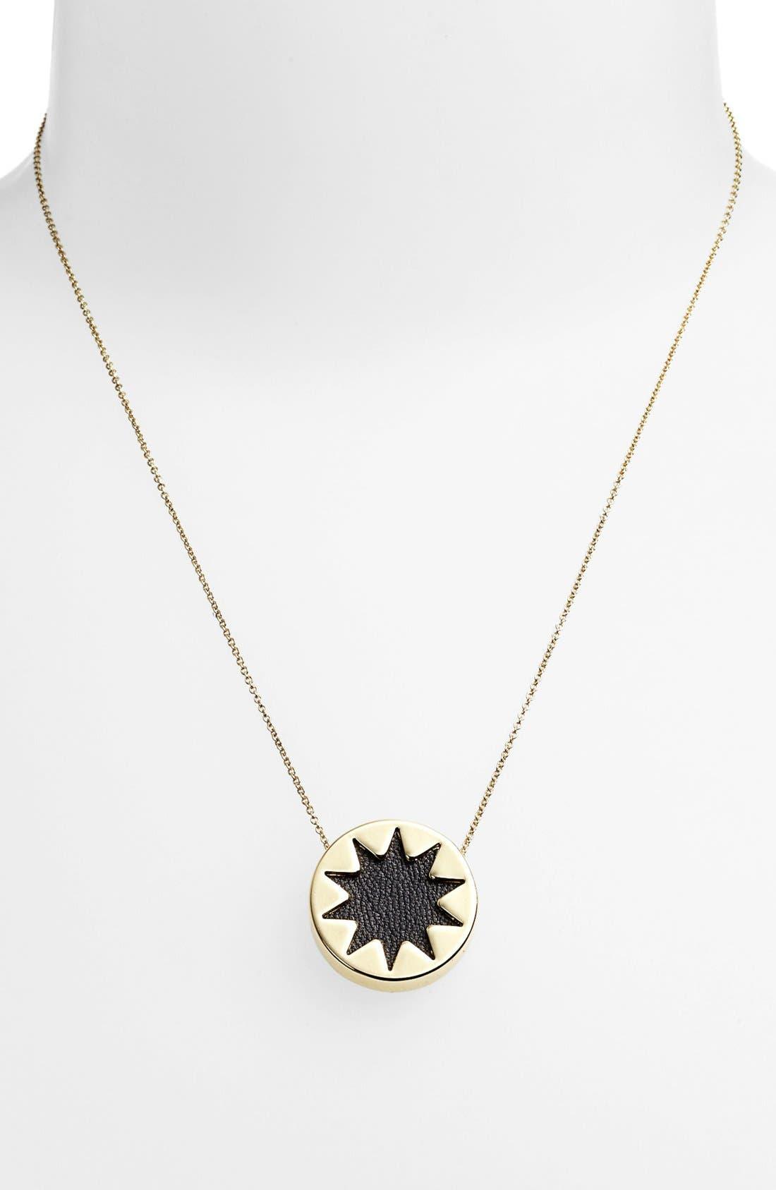 Alternate Image 3  - House of Harlow 1960 Mini Sunburst Pendant Necklace (Online Only)