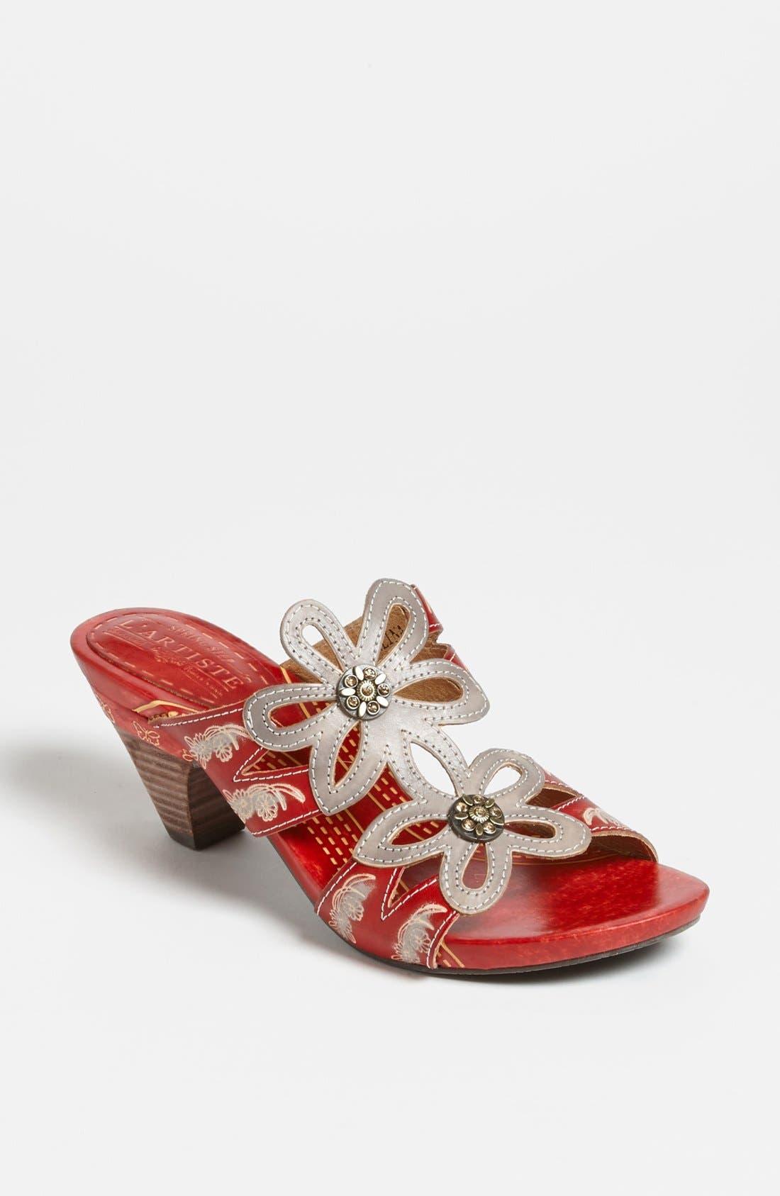 Alternate Image 1 Selected - Spring Step 'Carlina' Sandal