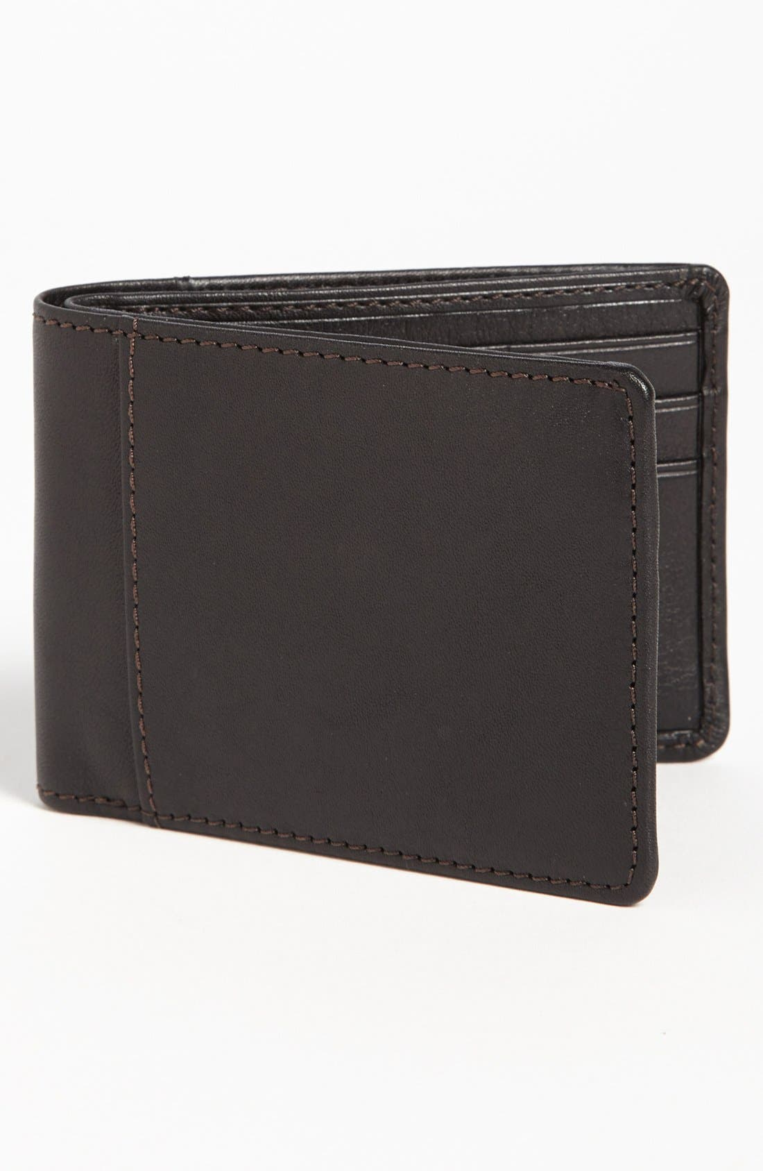 Alternate Image 1 Selected - Bosca Leather Wallet