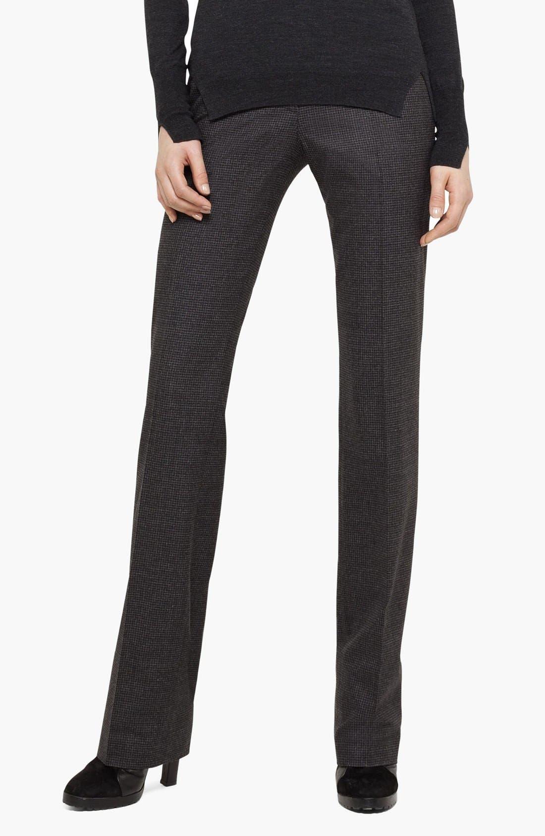 Alternate Image 1 Selected - Akris punto Stretch Wool Pants