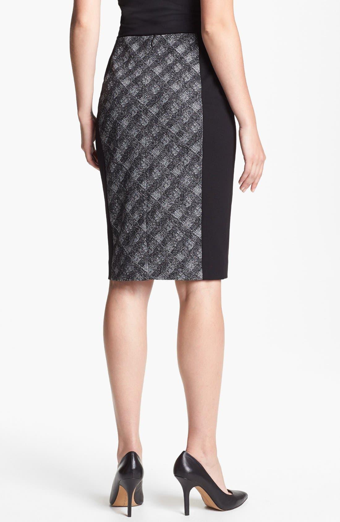 Alternate Image 2  - Classiques Entier® 'Twist Check' Skirt
