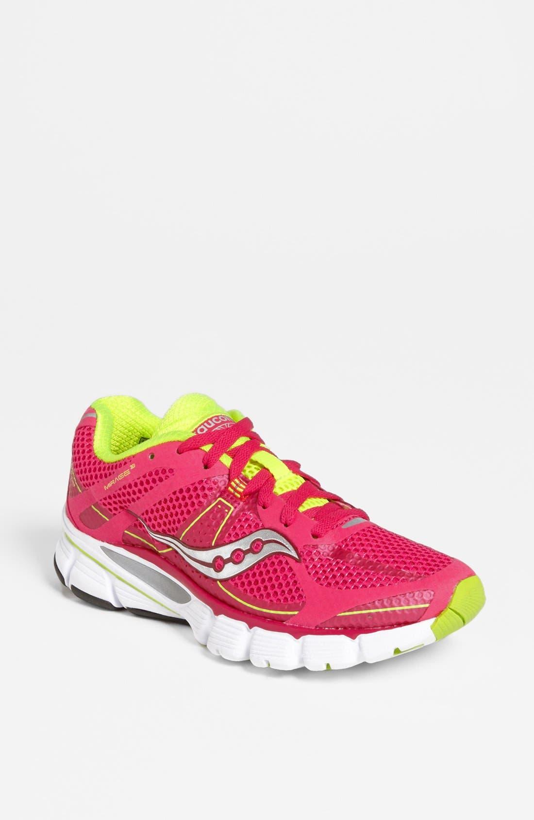 Main Image - Saucony 'Mirage 3' Running Shoe (Women) (Regular Retail Price: $109.95)