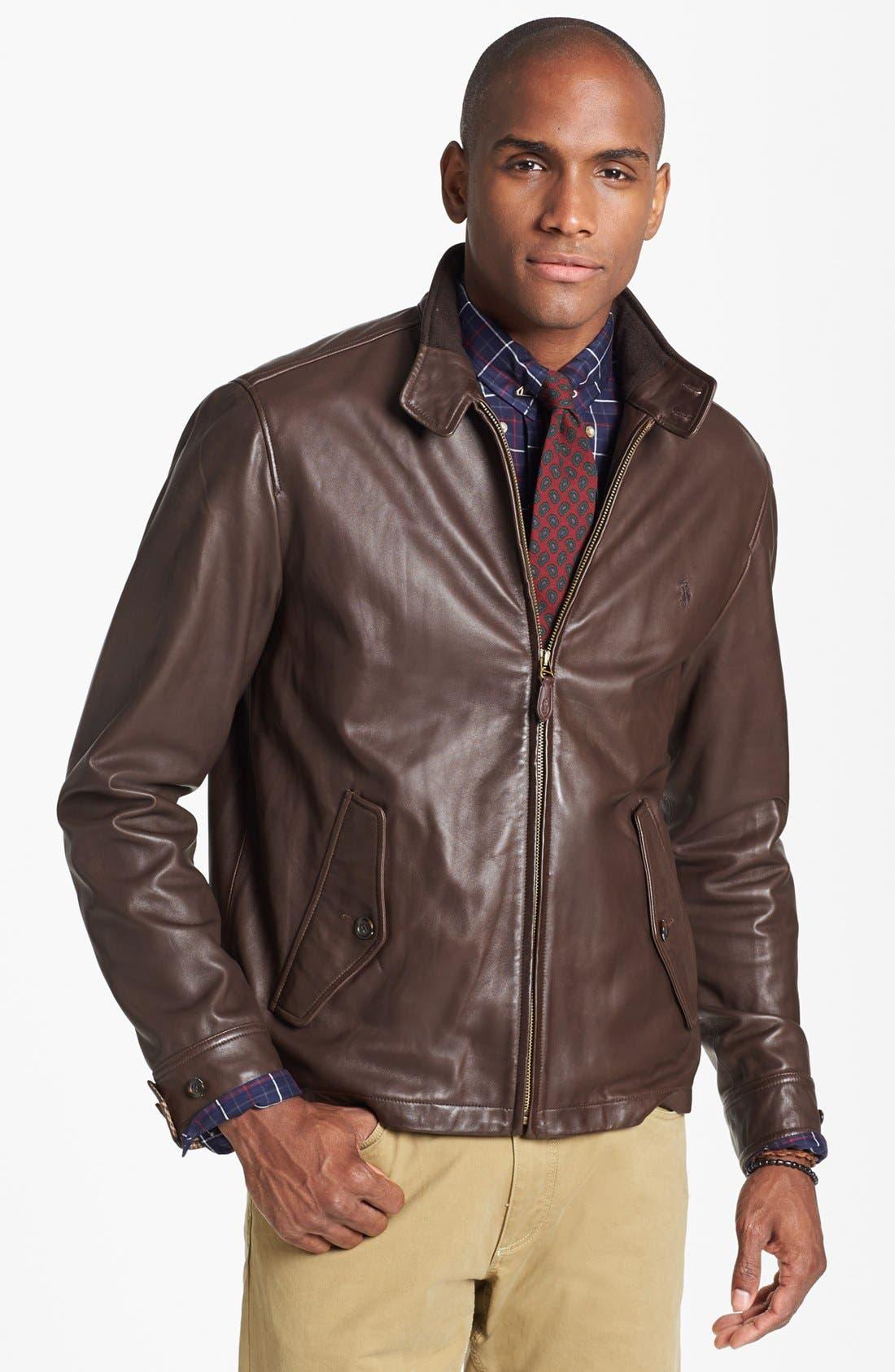Polo Ralph Lauren Leather Jacket | Nordstrom