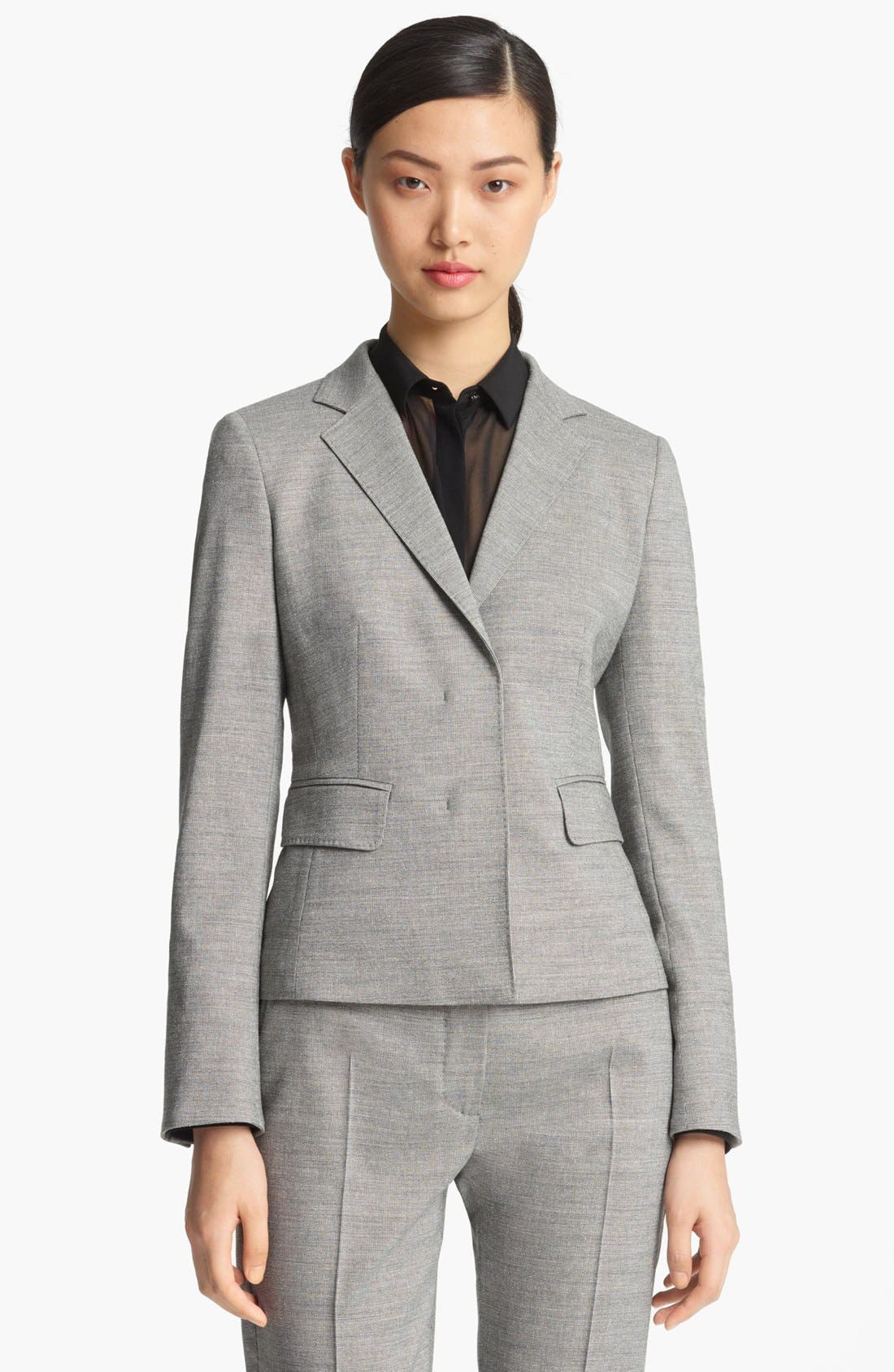 Alternate Image 1 Selected - Max Mara Wool & Silk Jacket