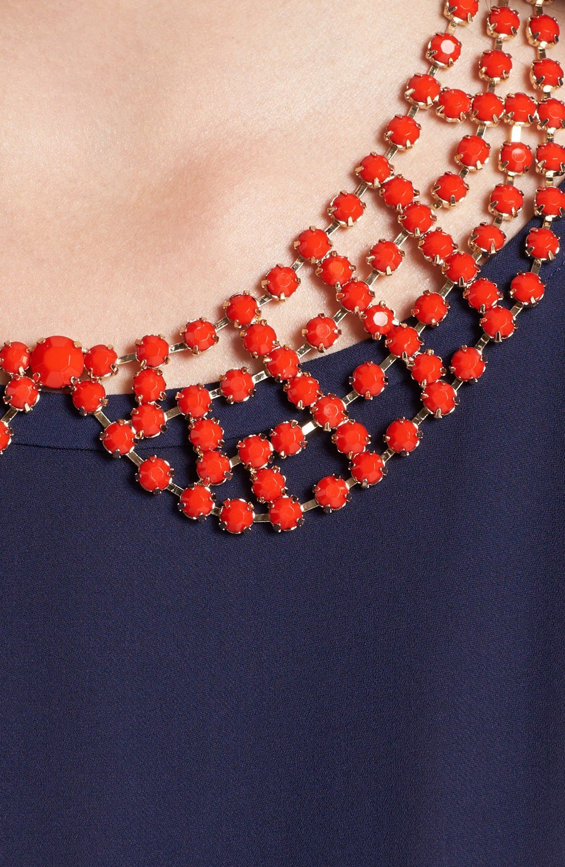 Alternate Image 2  - Cara 'Beaded Lady' Collar Necklace