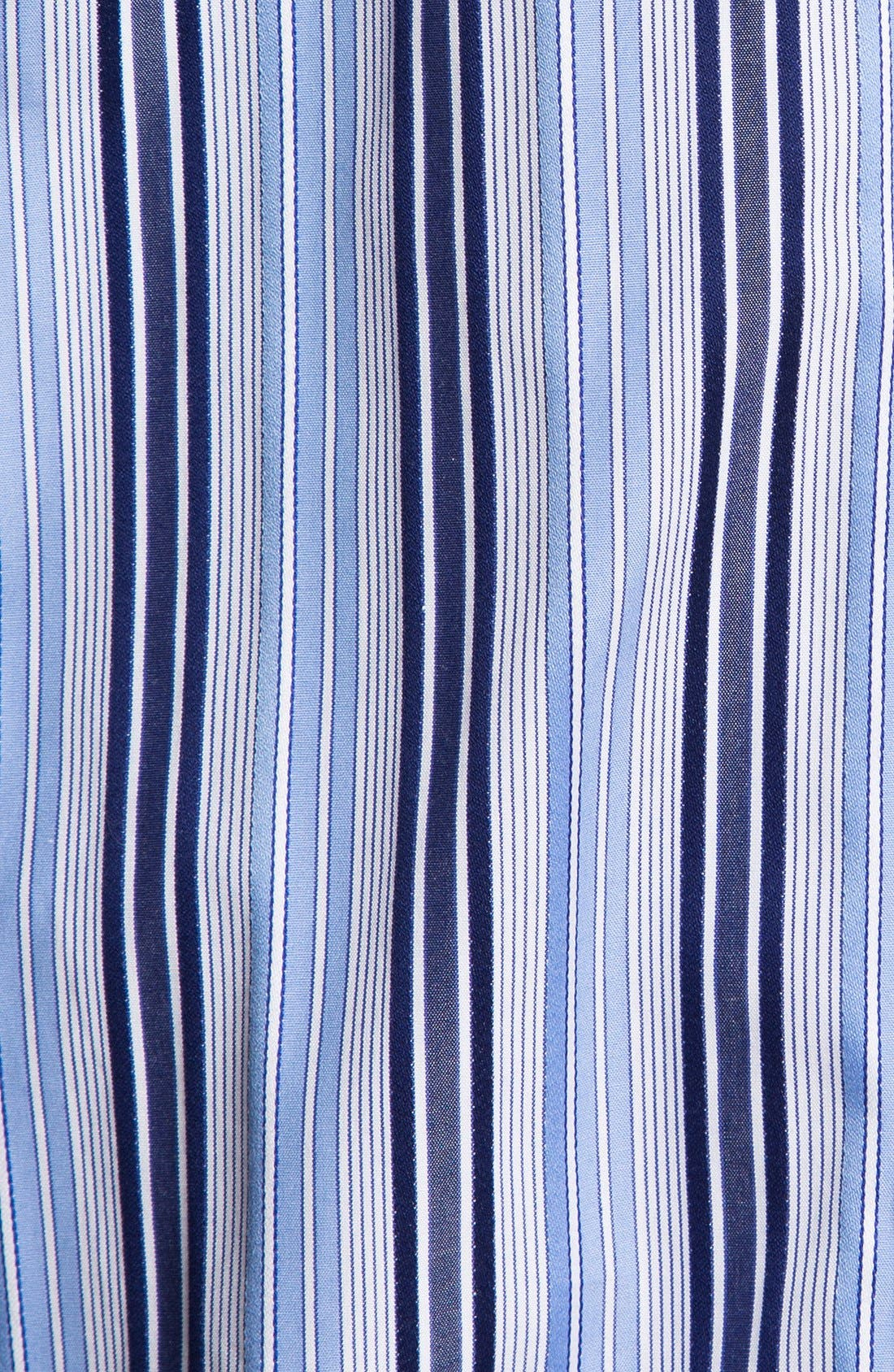 Alternate Image 3  - Bugatchi Striped Classic Fit Cotton Sport Shirt