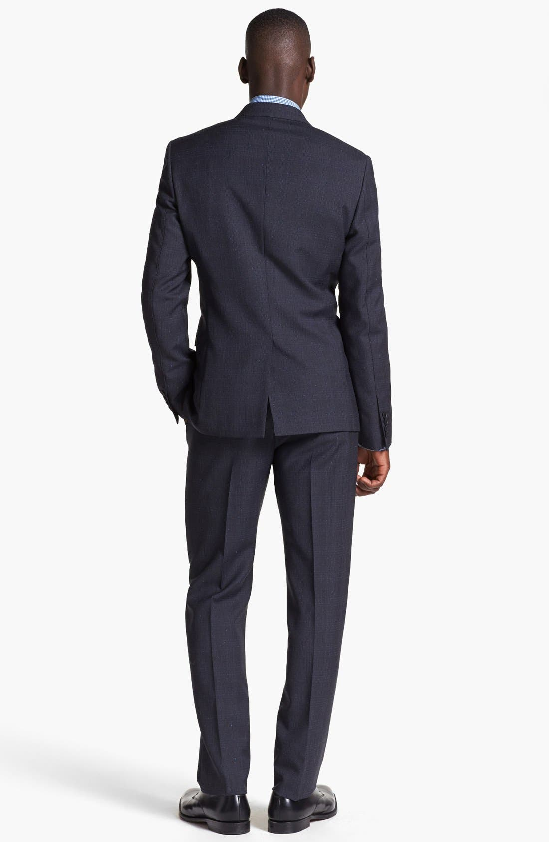 Alternate Image 3  - Paul Smith London Plaid Wool Suit