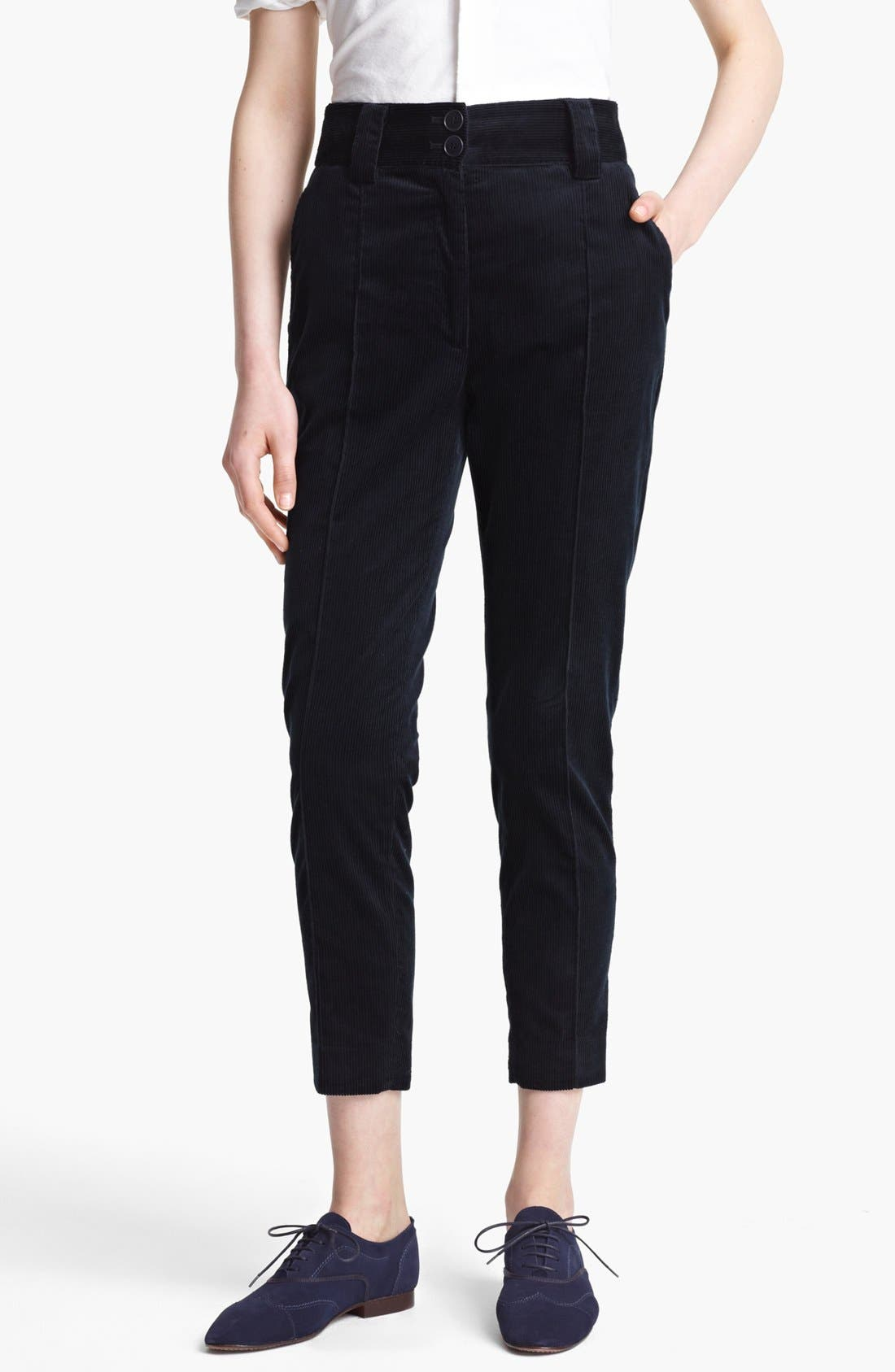 Alternate Image 1 Selected - Band of Outsiders Skinny Corduroy Pants