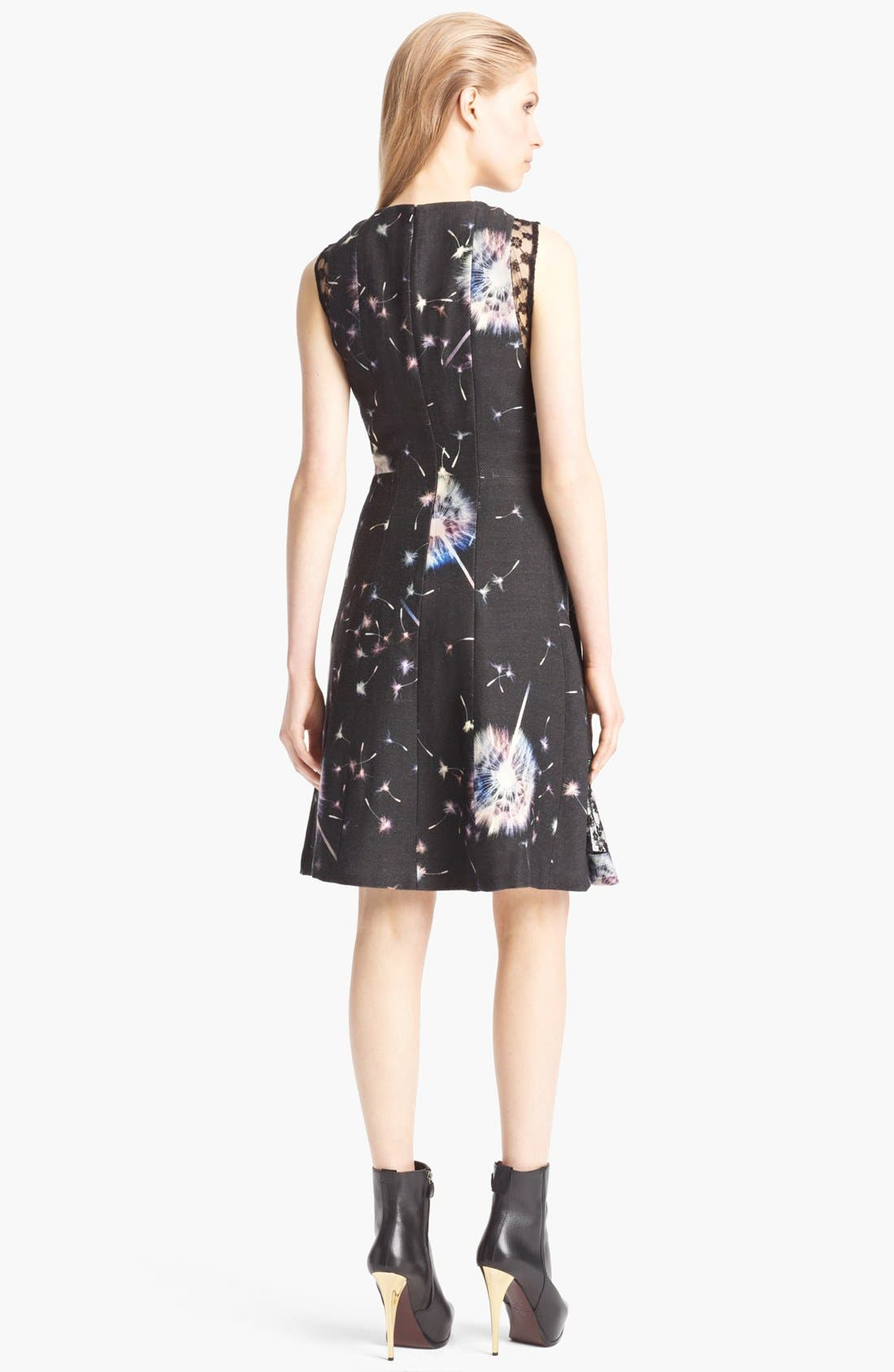Alternate Image 2  - Thakoon Floral Wool & Lace Dress