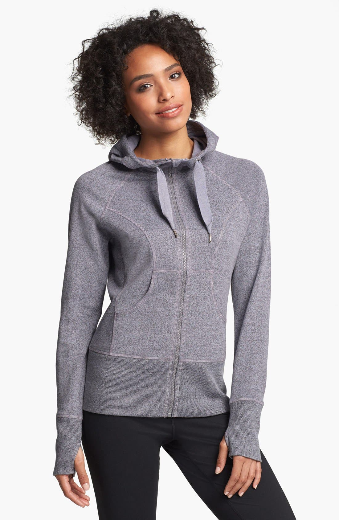 Alternate Image 1 Selected - Zella French Terry Hoodie