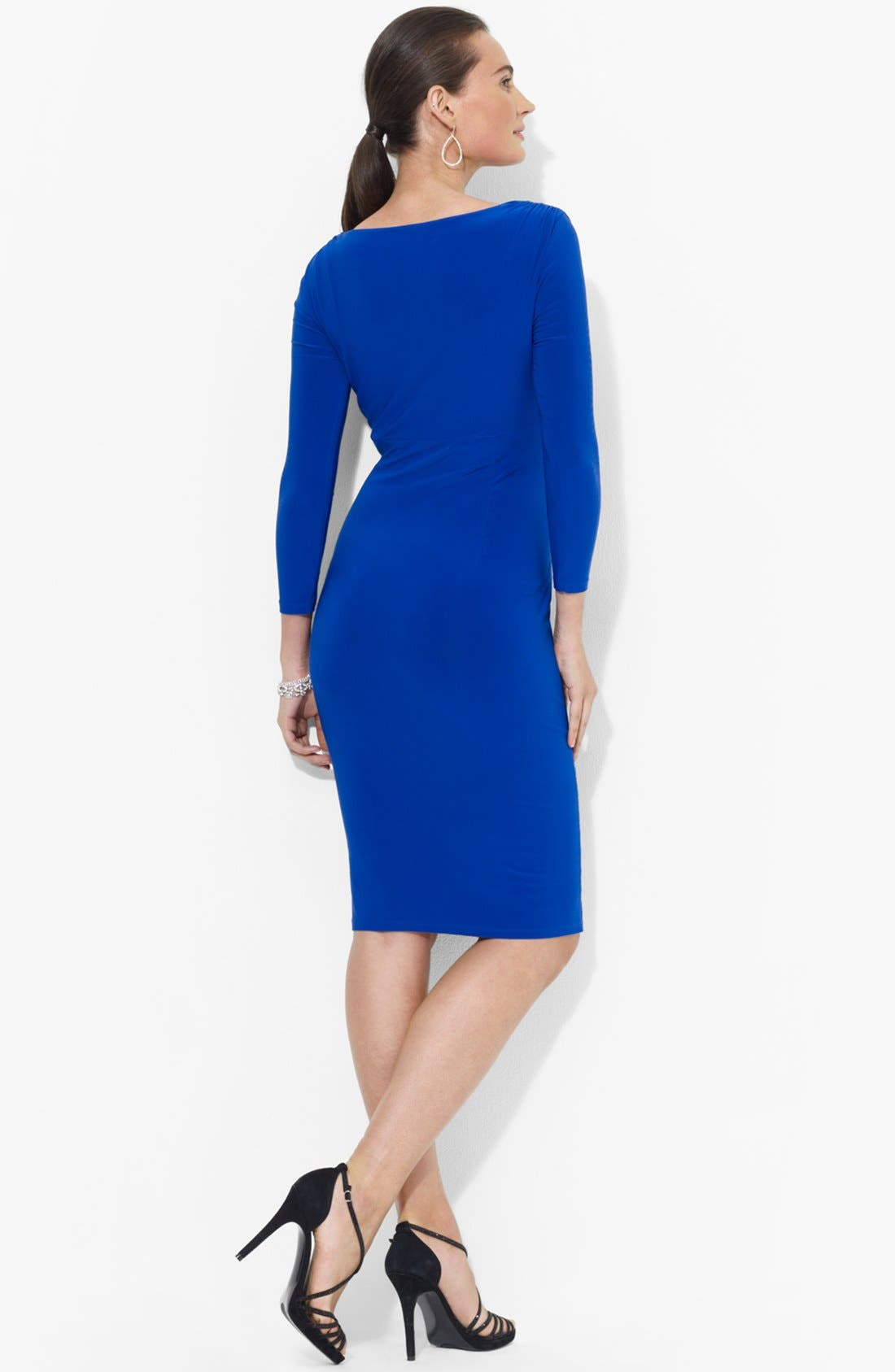 Alternate Image 2  - Lauren Ralph Lauren Matte Jersey Dress