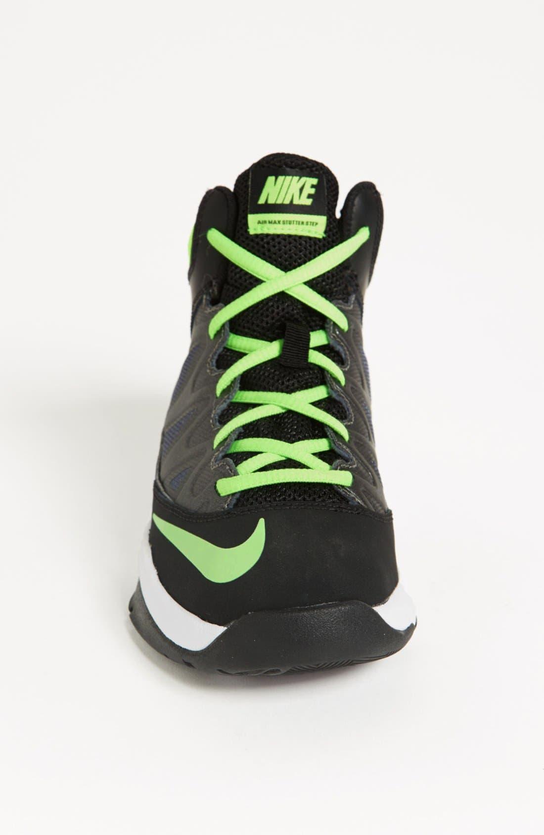 Alternate Image 3  - Nike 'Air Max Stutter Step' Basketball Shoe (Big Kid)