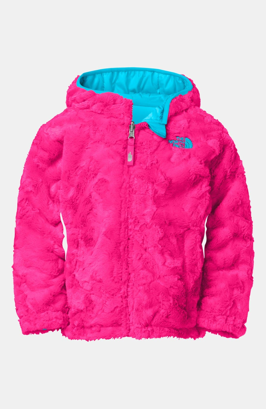 Alternate Image 2  - The North Face 'Mossbud Swirl' Reversible Water Repellent Jacket(Toddler Girls)