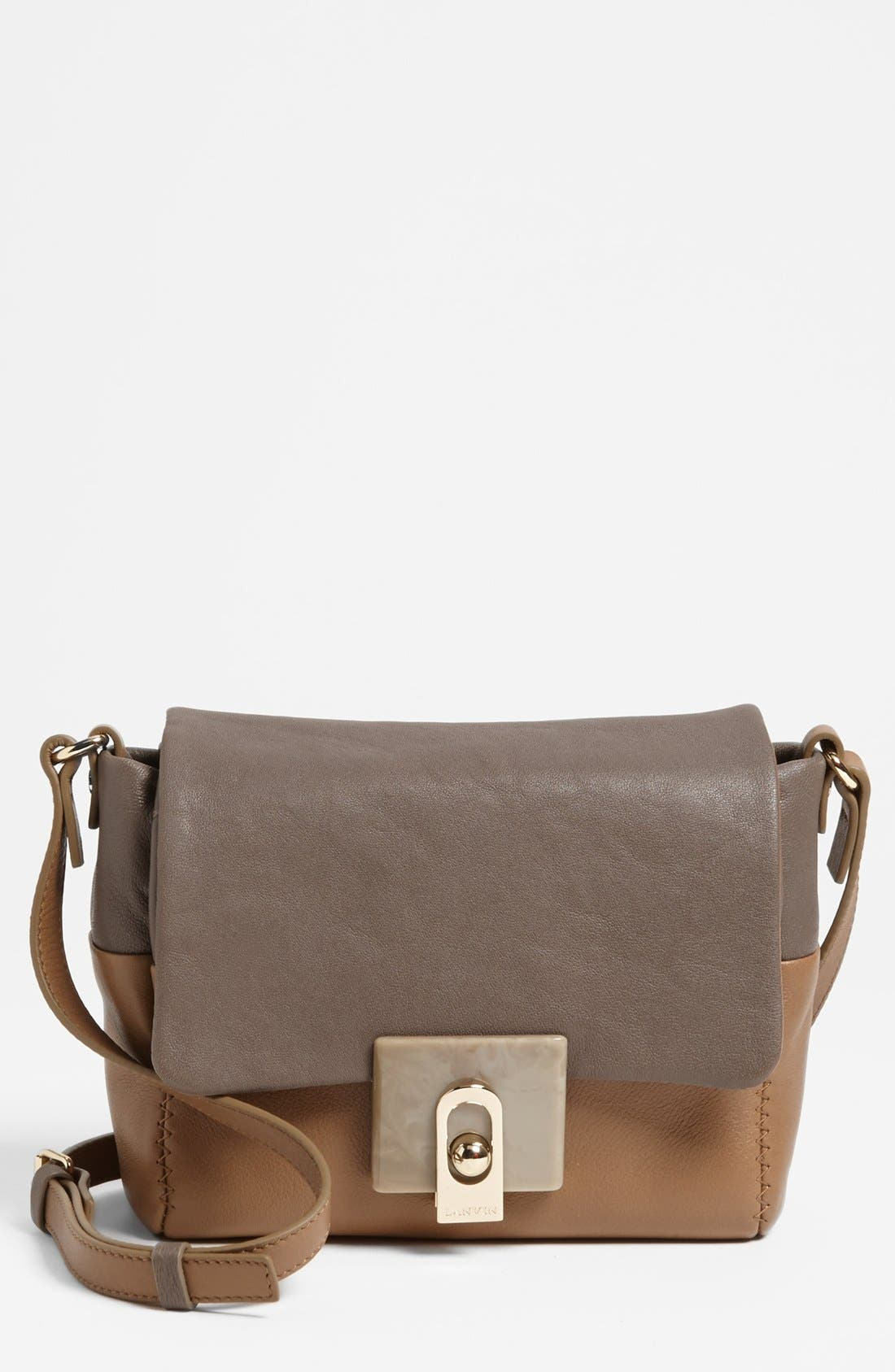 Main Image - Lanvin 'For Me' Leather Crossbody Bag