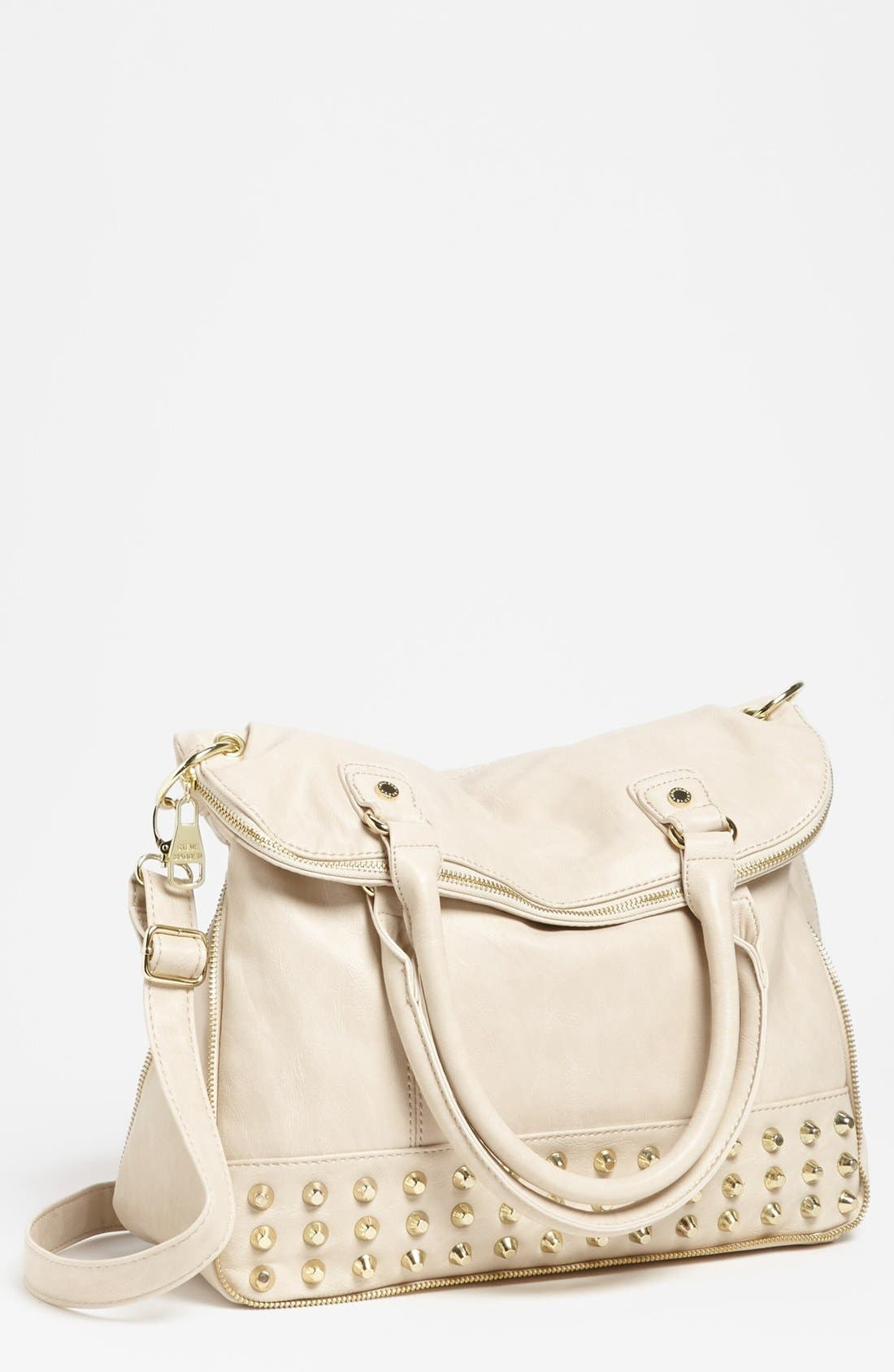 Main Image - Steve Madden Convertible Faux Leather Tote