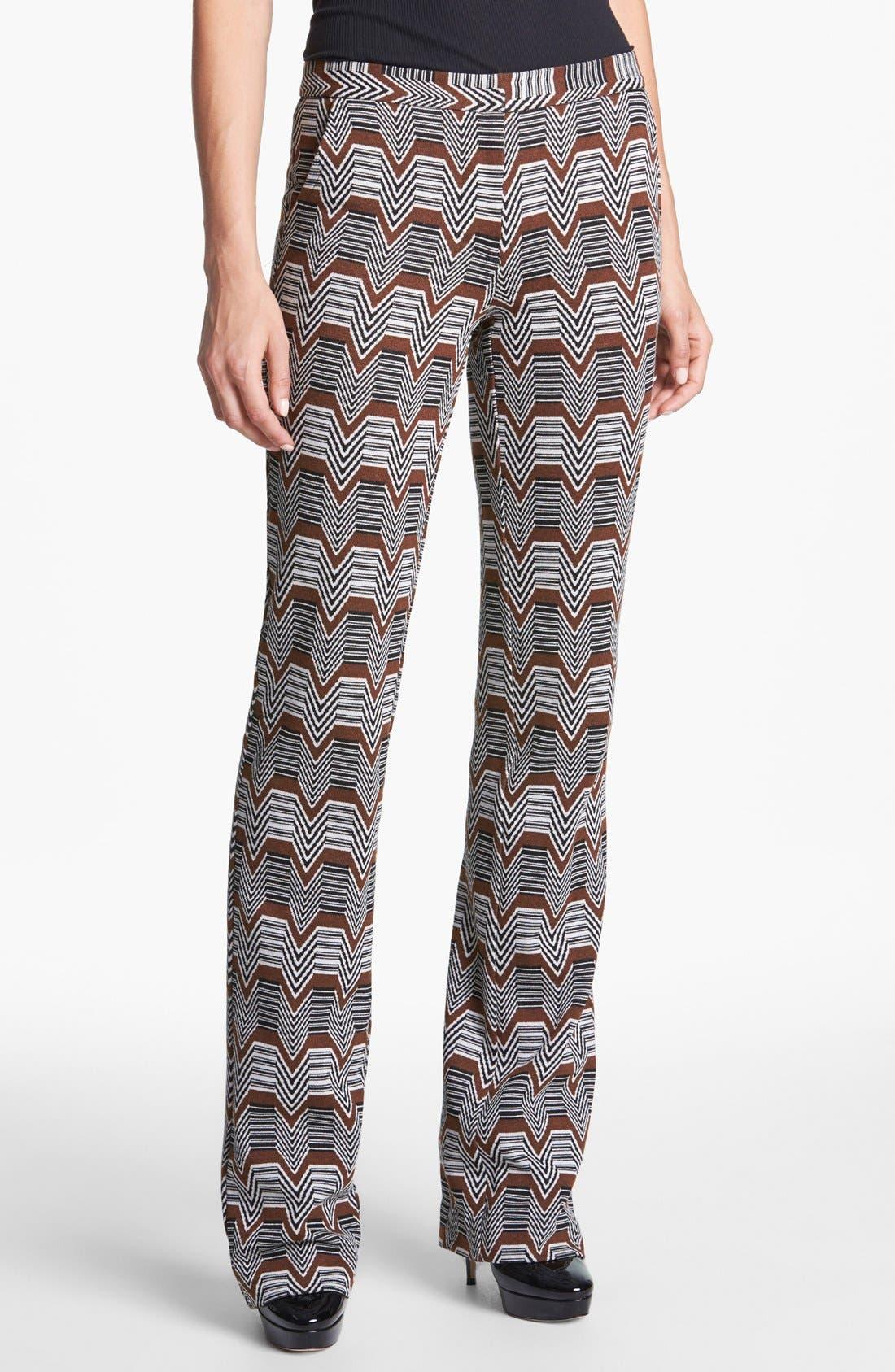 Alternate Image 1 Selected - Trina Turk 'Rocco' Jacquard Pants