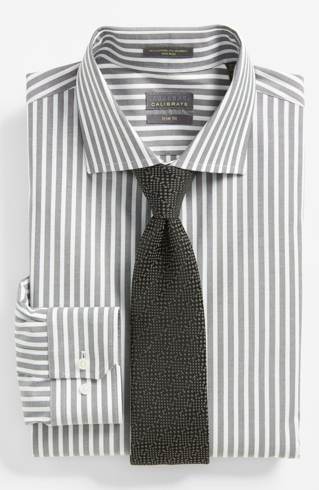 Alternate Image 3  - Calibrate Trim Fit Non-Iron Dress Shirt