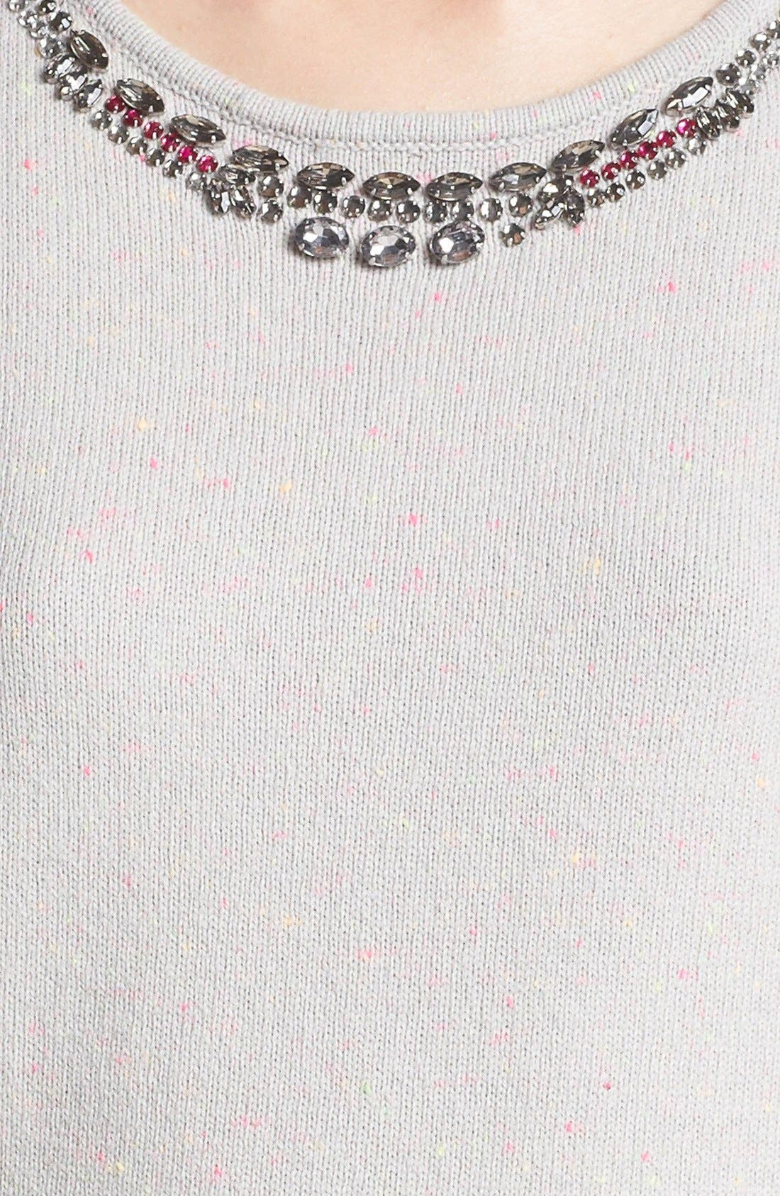 Alternate Image 3  - Hinge® Jewel Embellished Sweater