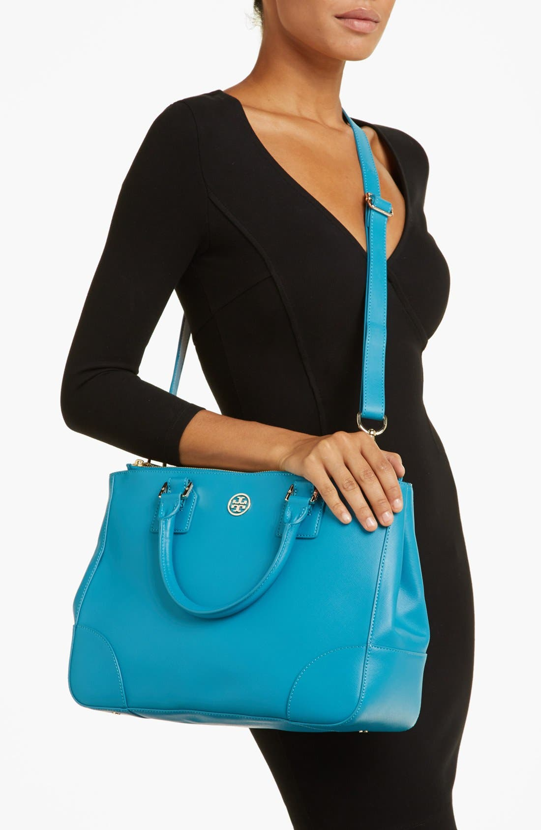 Alternate Image 2  - Tory Burch 'Robinson' Double Zip Tote