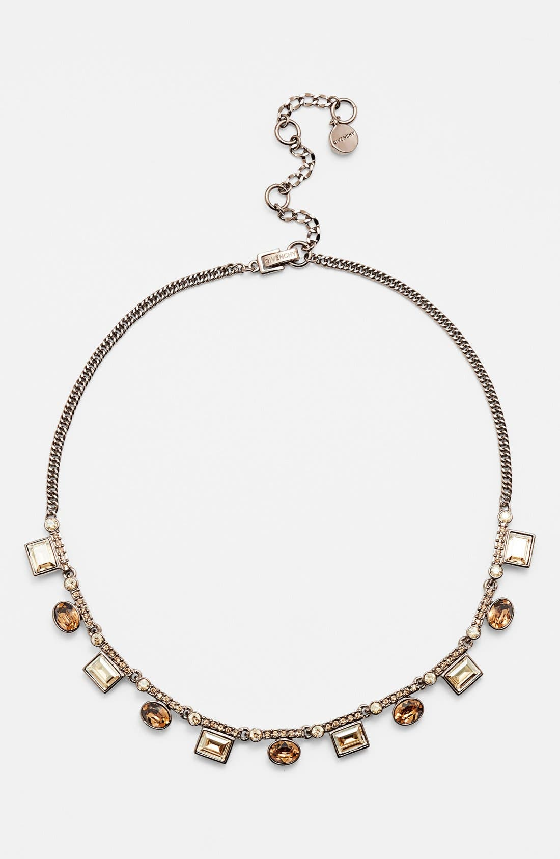 Alternate Image 1 Selected - Givenchy Crystal Frontal Necklace (Nordstrom Exclusive)