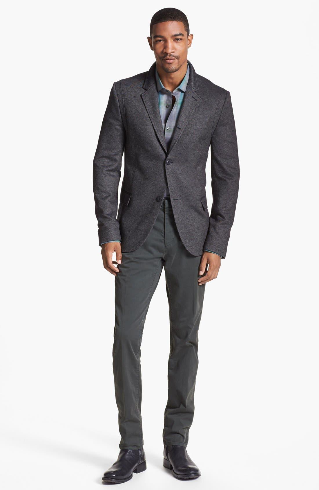 Alternate Image 4  - HUGO 'Adgar' Twill Sportcoat