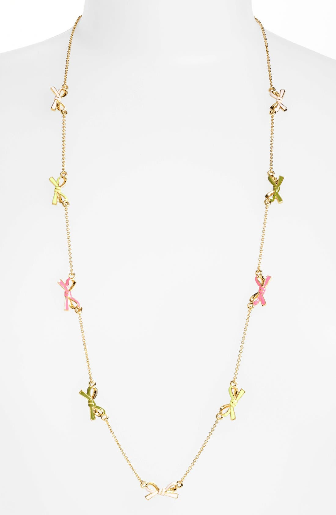 Main Image - kate spade new york 'skinny mini' long station necklace