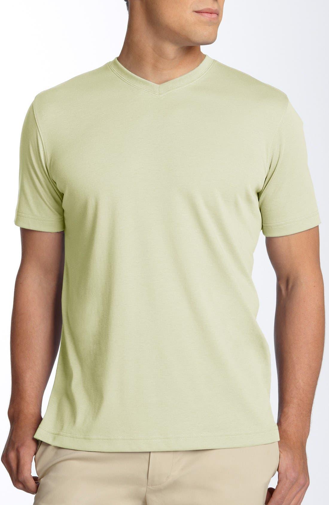 Alternate Image 1 Selected - Robert Barakett 'Georgia' V-Neck T-Shirt