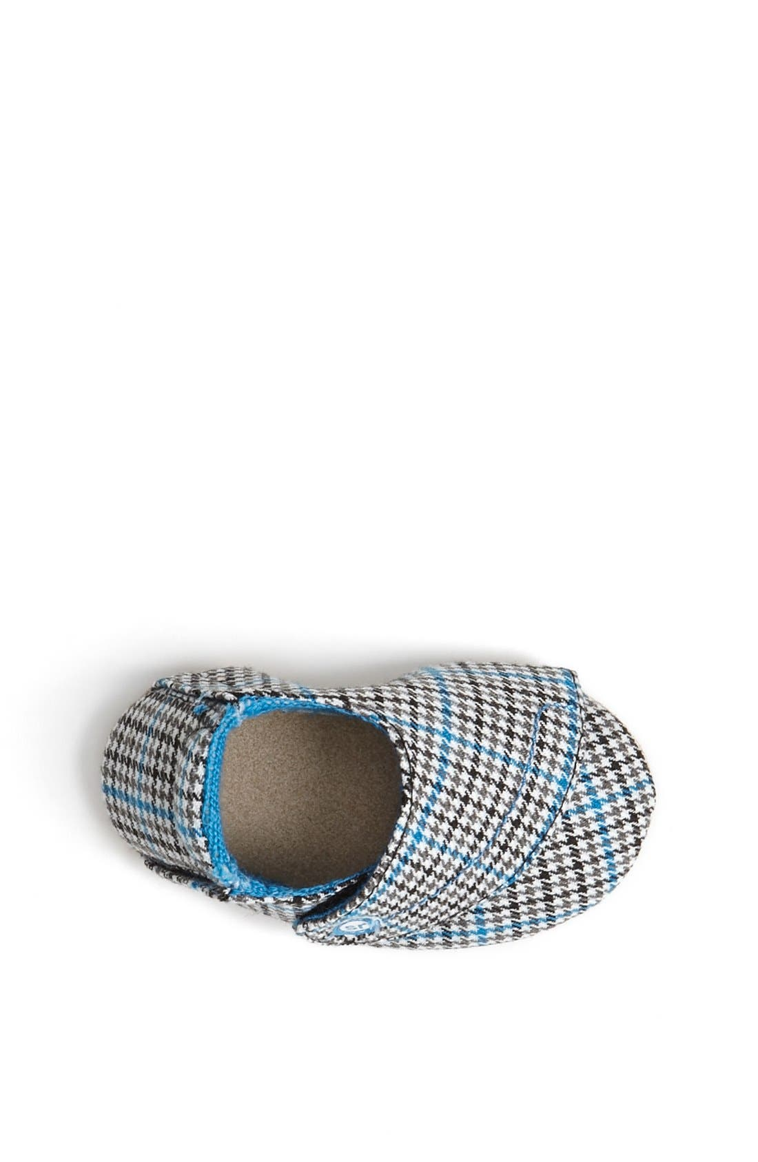 Alternate Image 3  - Stride Rite 'Hip Houndstooth' Crib Shoe (Baby Boys)