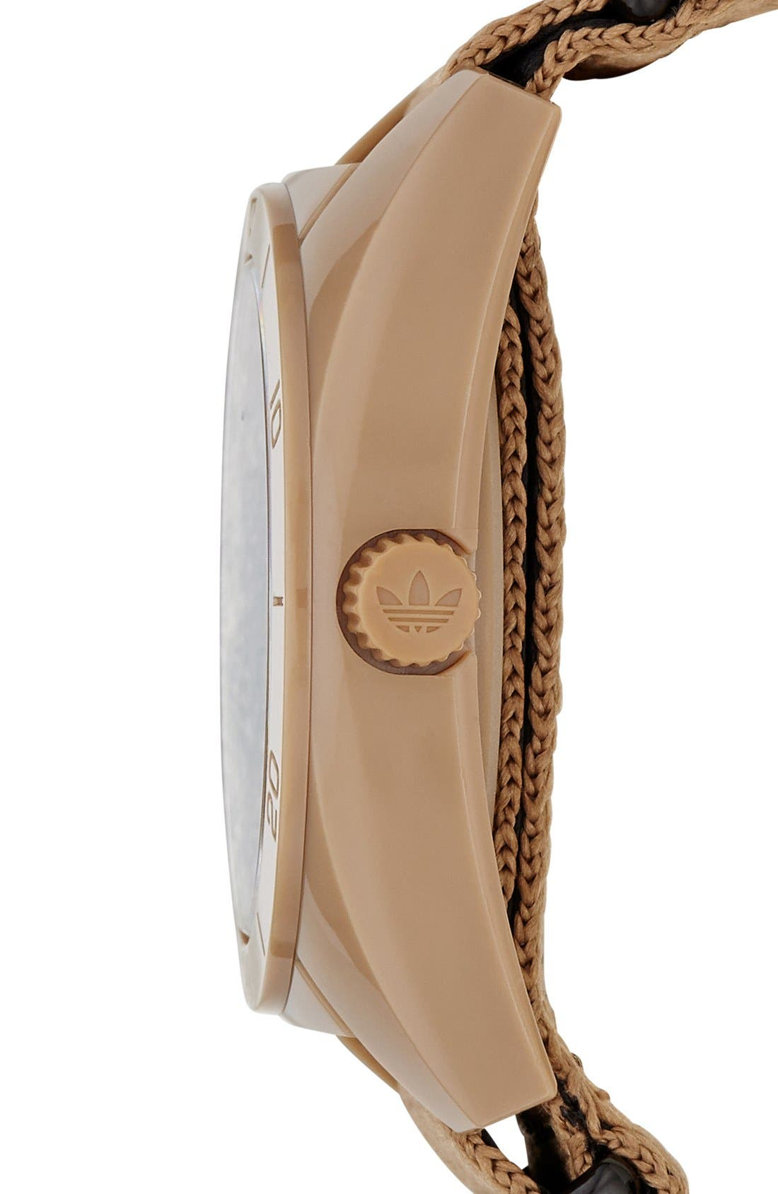 Alternate Image 3  - adidas Originals 'Santiago - Special Edition' Fabric Strap Watch, 42mm