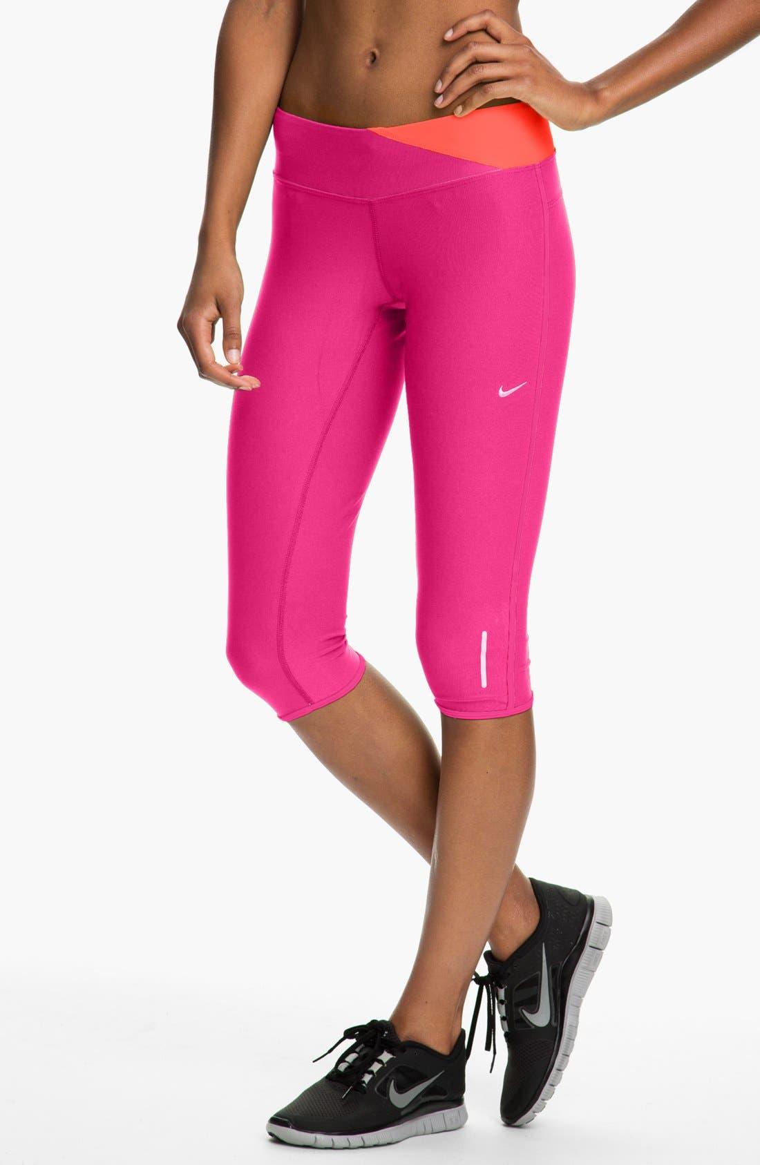 Alternate Image 1 Selected - Nike 'Twisted' Running Capris