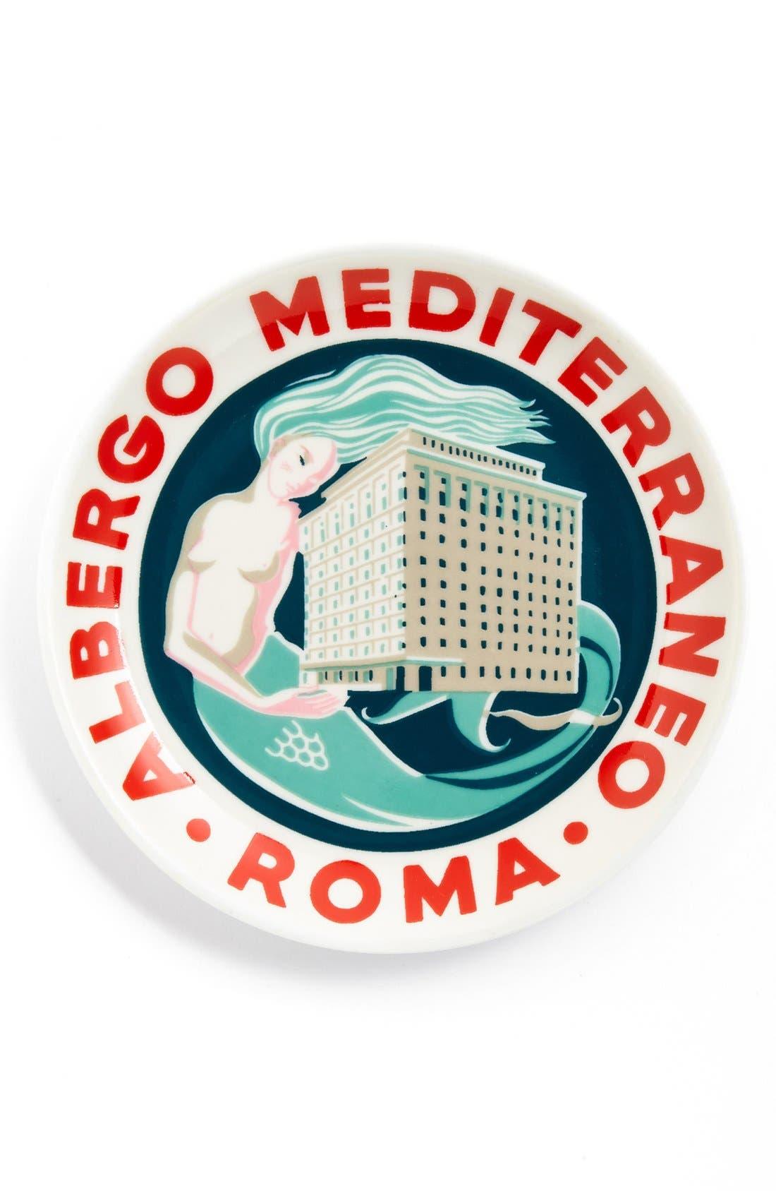 Alternate Image 1 Selected - Rosanna 'Voyage - Roma' Porcelain Tray