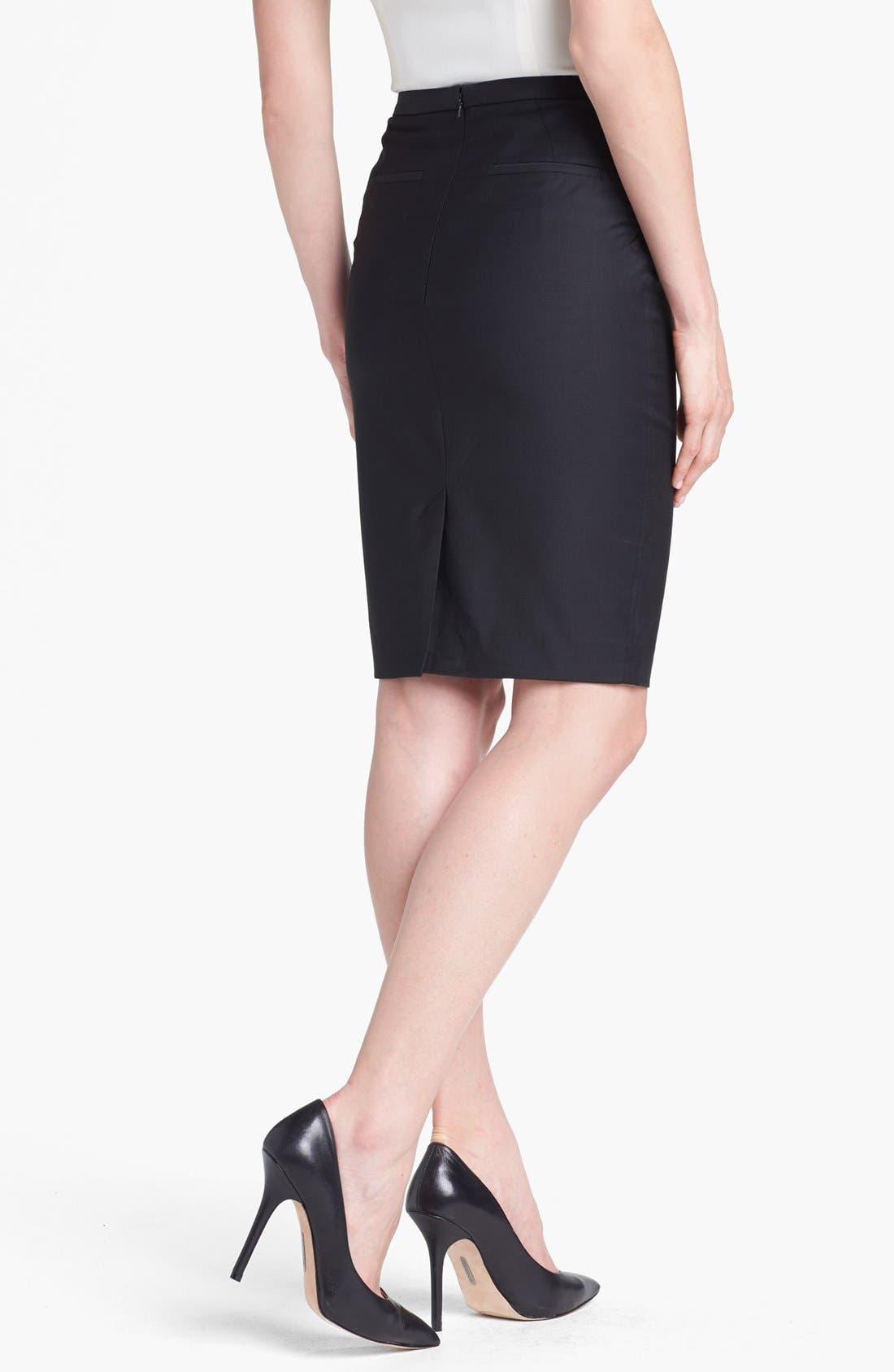 Alternate Image 2  - Ted Baker London 'Shiny Lavanta' Pencil Skirt