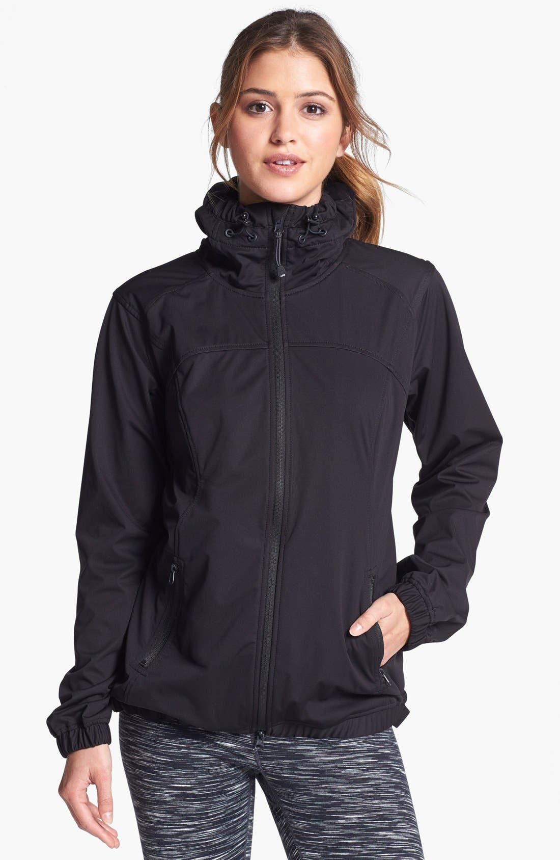 Alternate Image 1 Selected - Zella 'Luxe' Rain Jacket