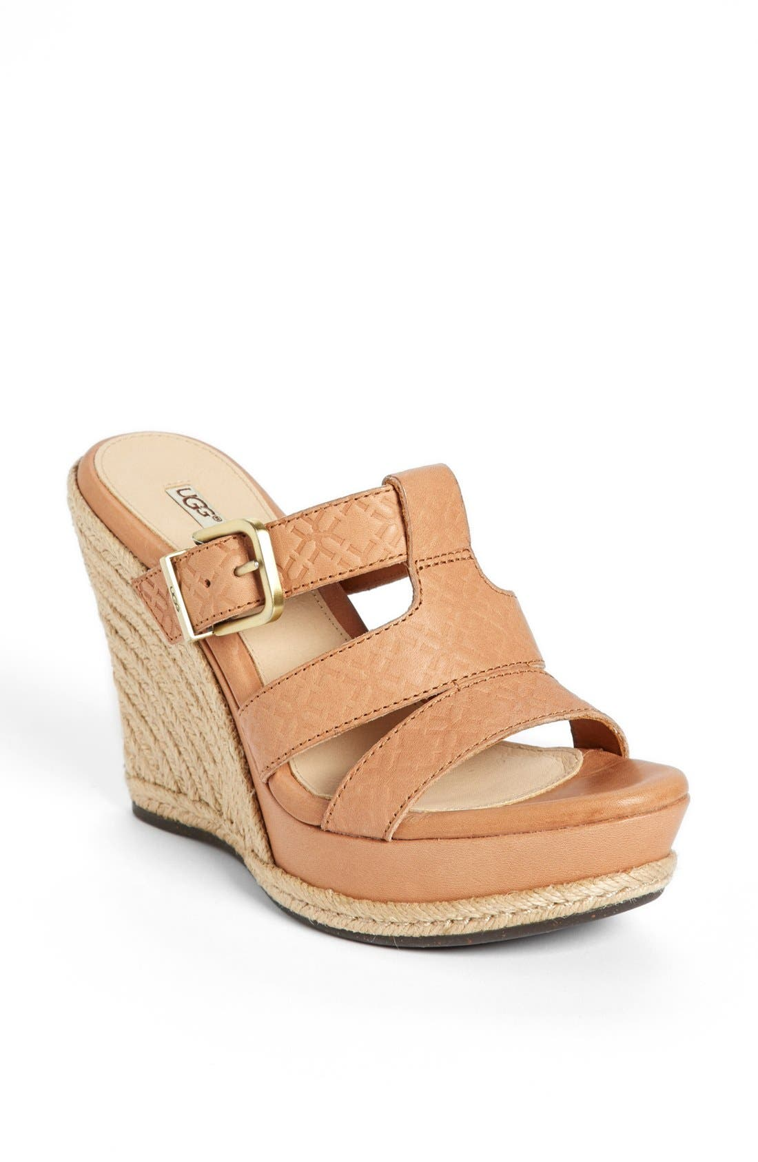 Alternate Image 1 Selected - UGG® Australia 'Hedy' Sandal (Women)