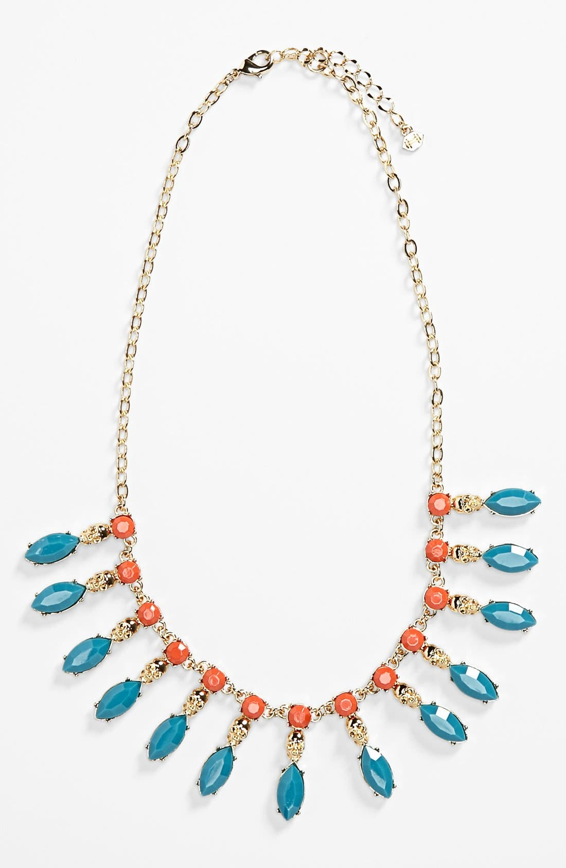 Alternate Image 1 Selected - Metal Haven by KENDALL + KYLIE Skull Necklace (Juniors) (Nordstrom Exclusive)
