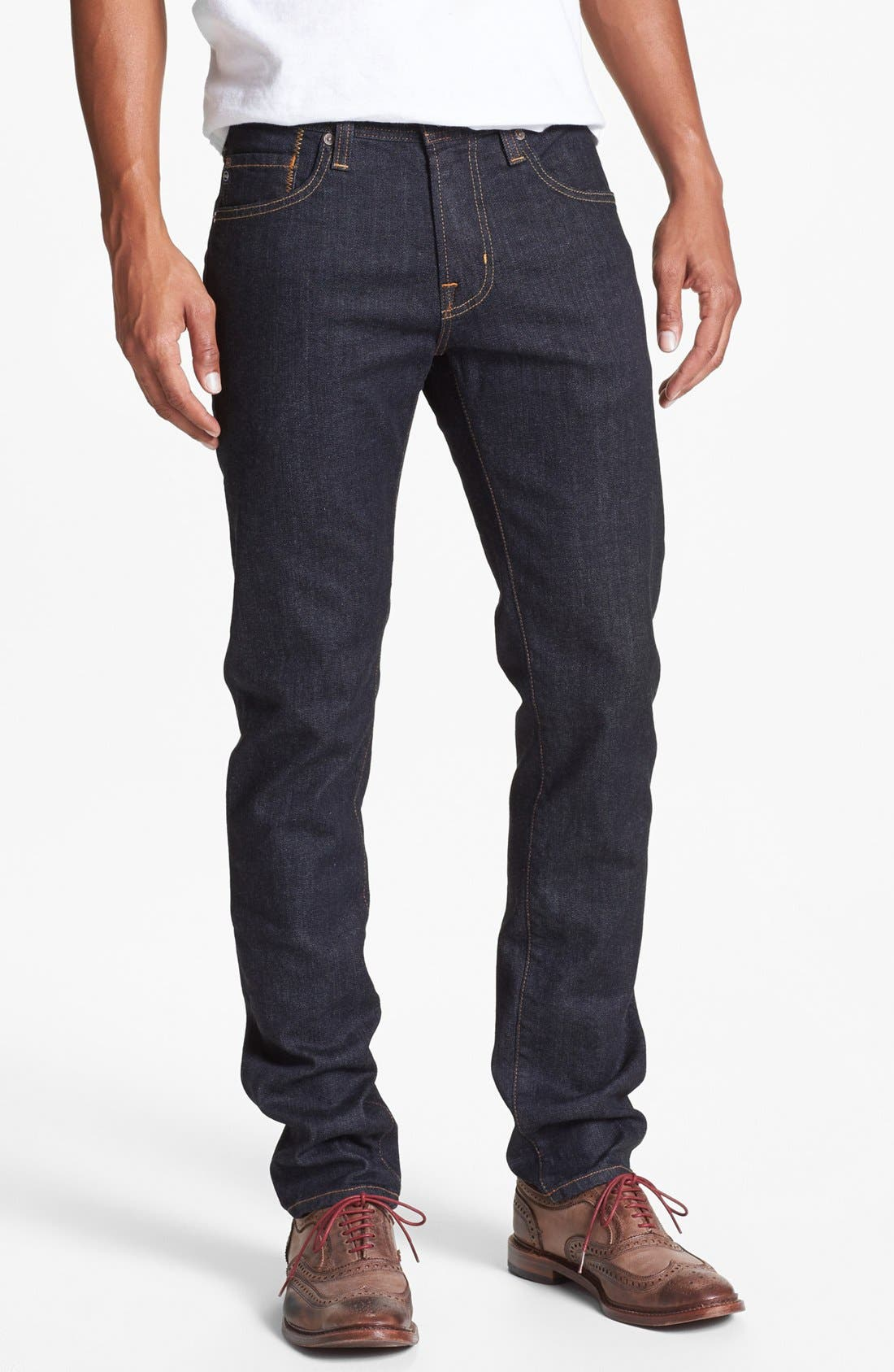 'Dylan' Skinny Fit Jeans,                             Main thumbnail 1, color,                             Jack
