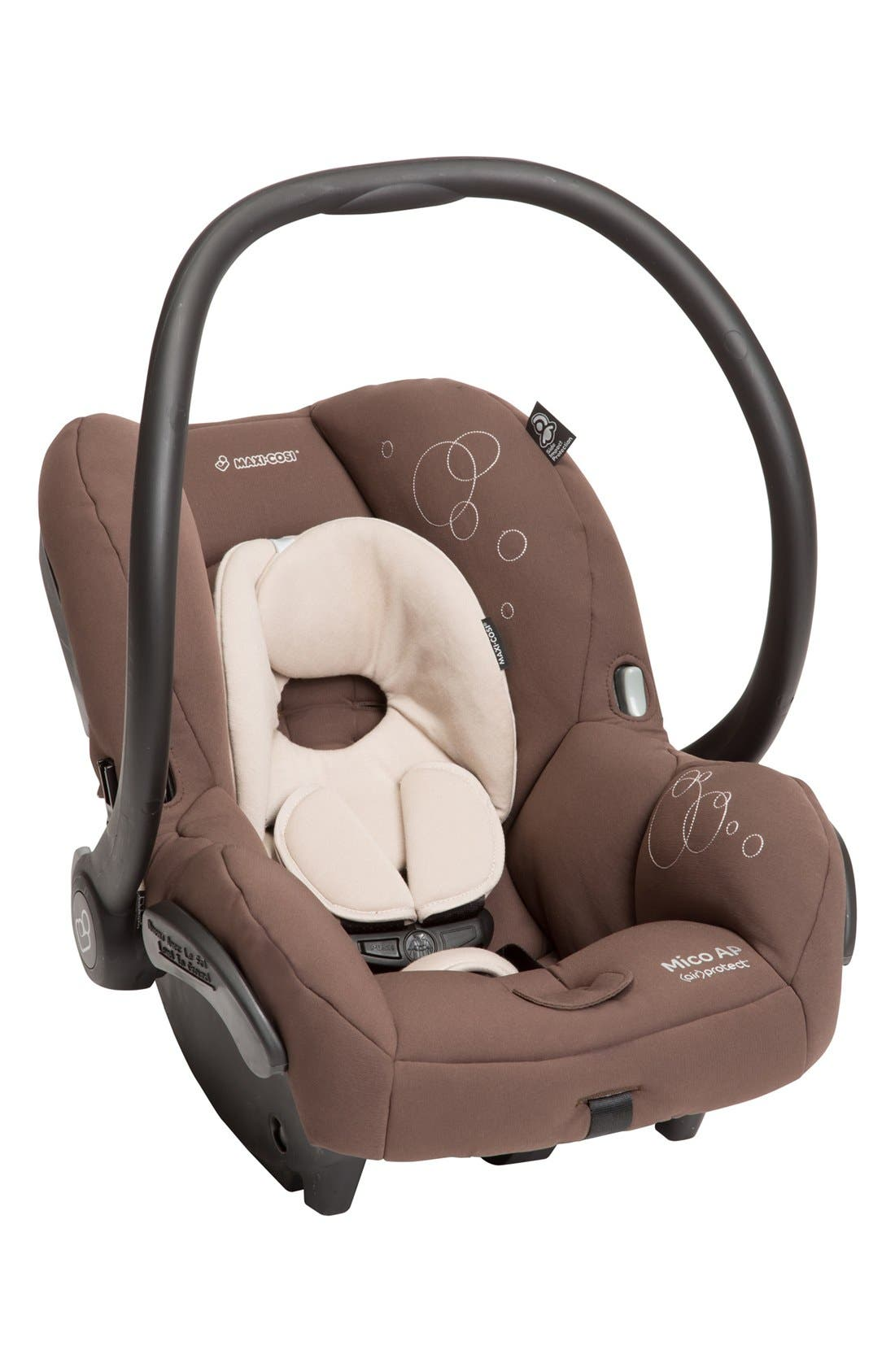 Mico AP Infant Car Seat & Base,                             Alternate thumbnail 2, color,                             Milk Chocolate