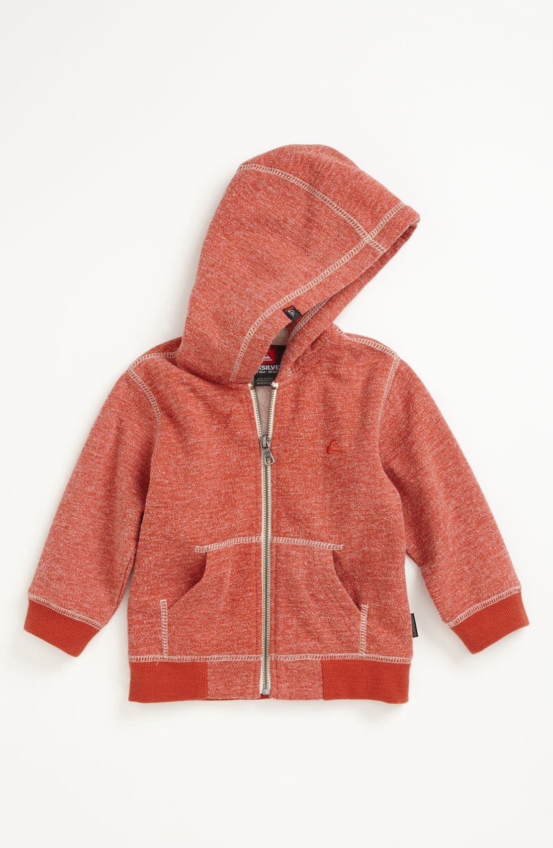 Alternate Image 1 Selected - Quiksilver 'Hartley' Hoodie (Toddler Boys)