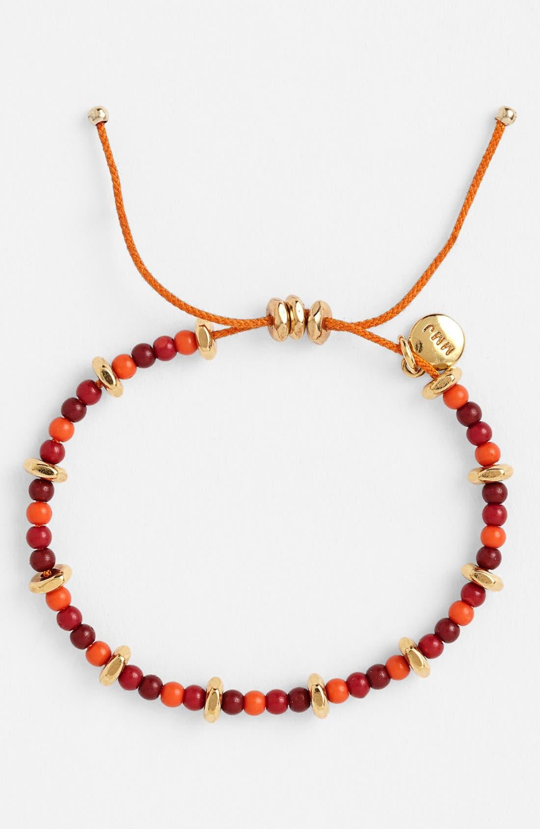 Main Image - MARC BY MARC JACOBS Beaded Friendship Bracelet