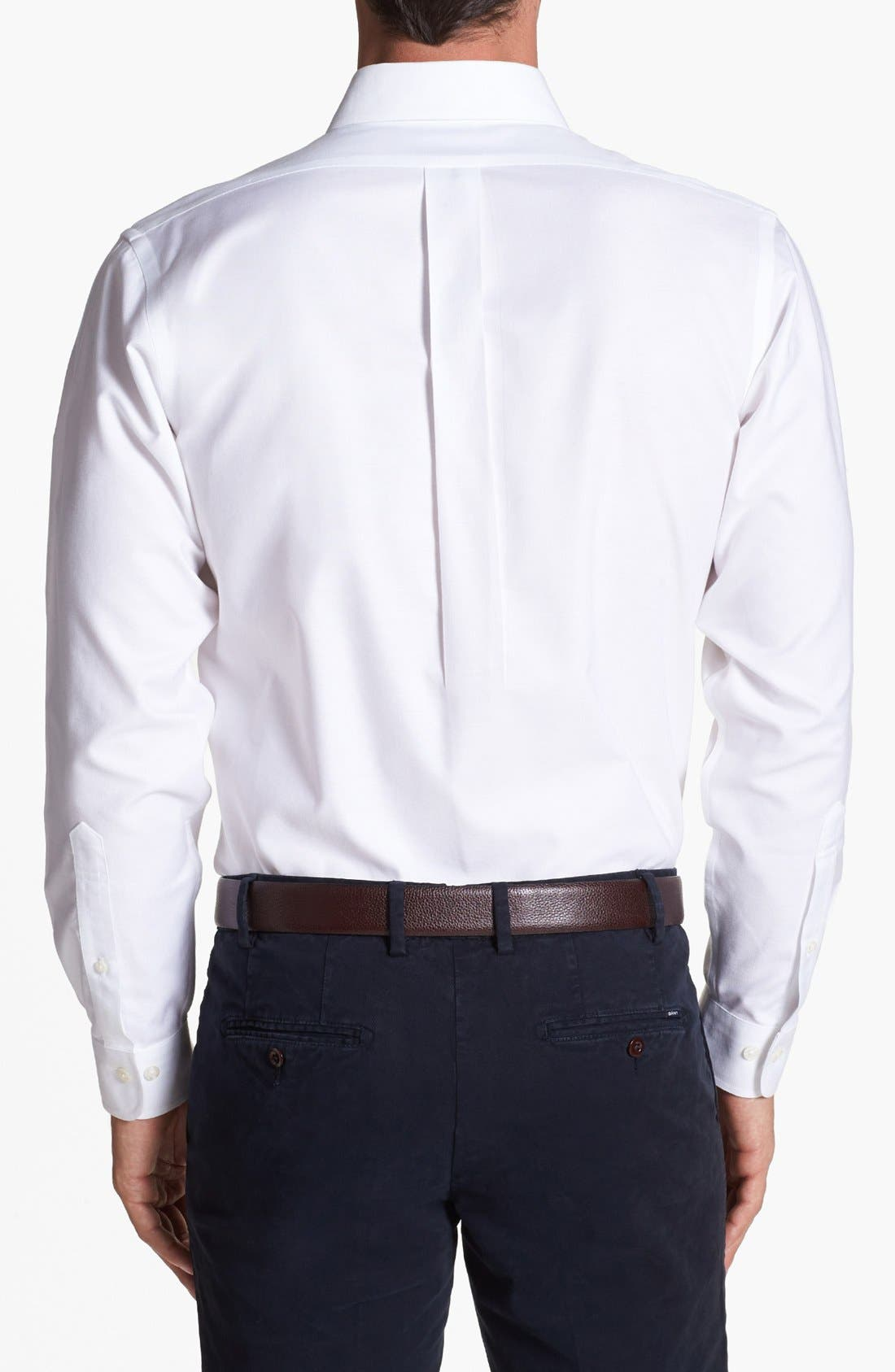 Alternate Image 2  - Brooks Brothers 'Niox' Regular Fit Sport Shirt