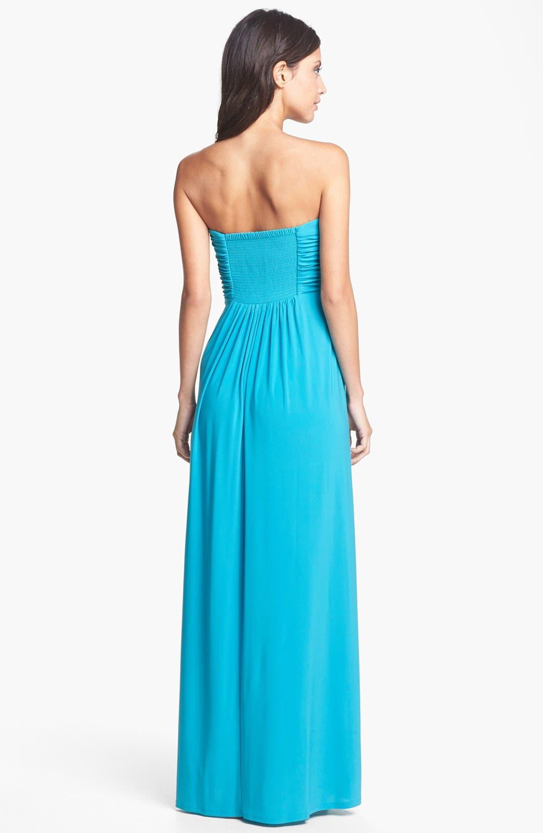 Alternate Image 2  - Jessica Simpson Front Twist Jersey Maxi Dress