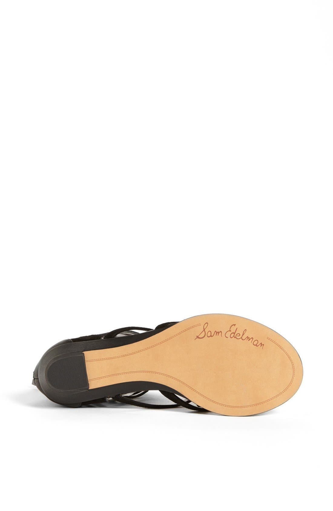 Alternate Image 4  - Sam Edelman 'Dana' Leather Sandal