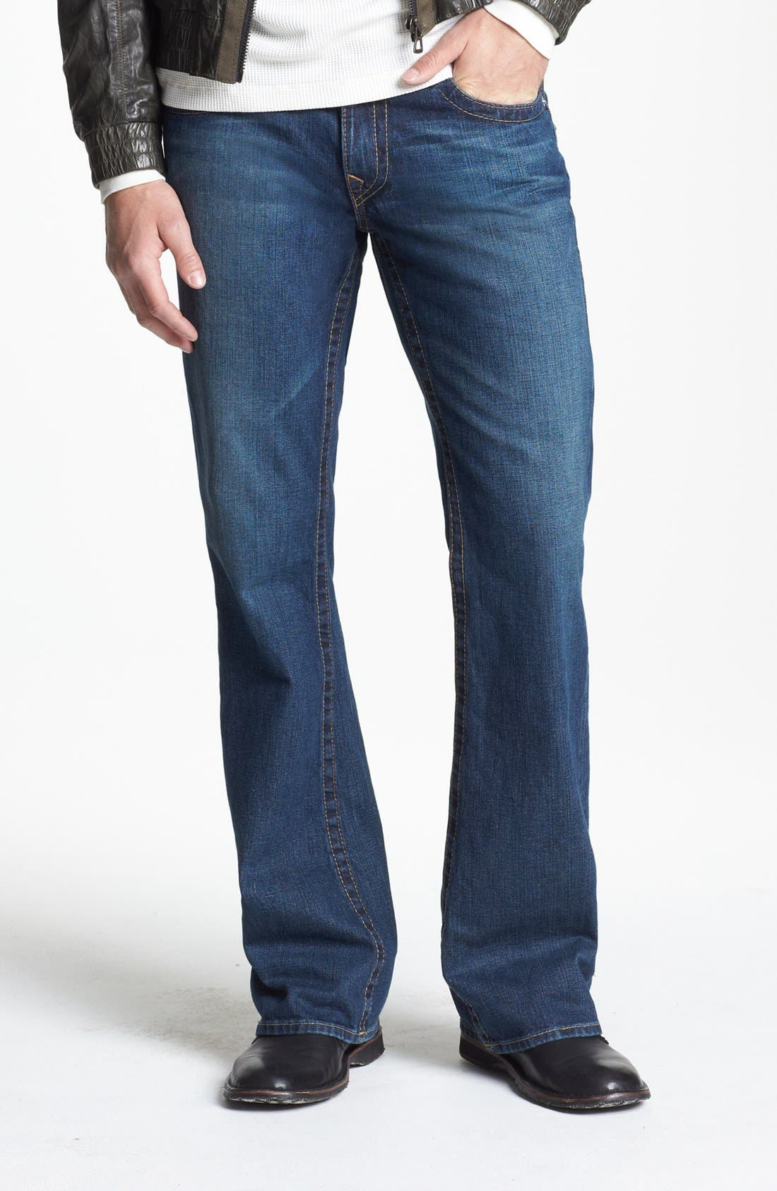 Alternate Image 2  - True Religion Brand Jeans 'Billy' Bootcut Jeans (Monte)