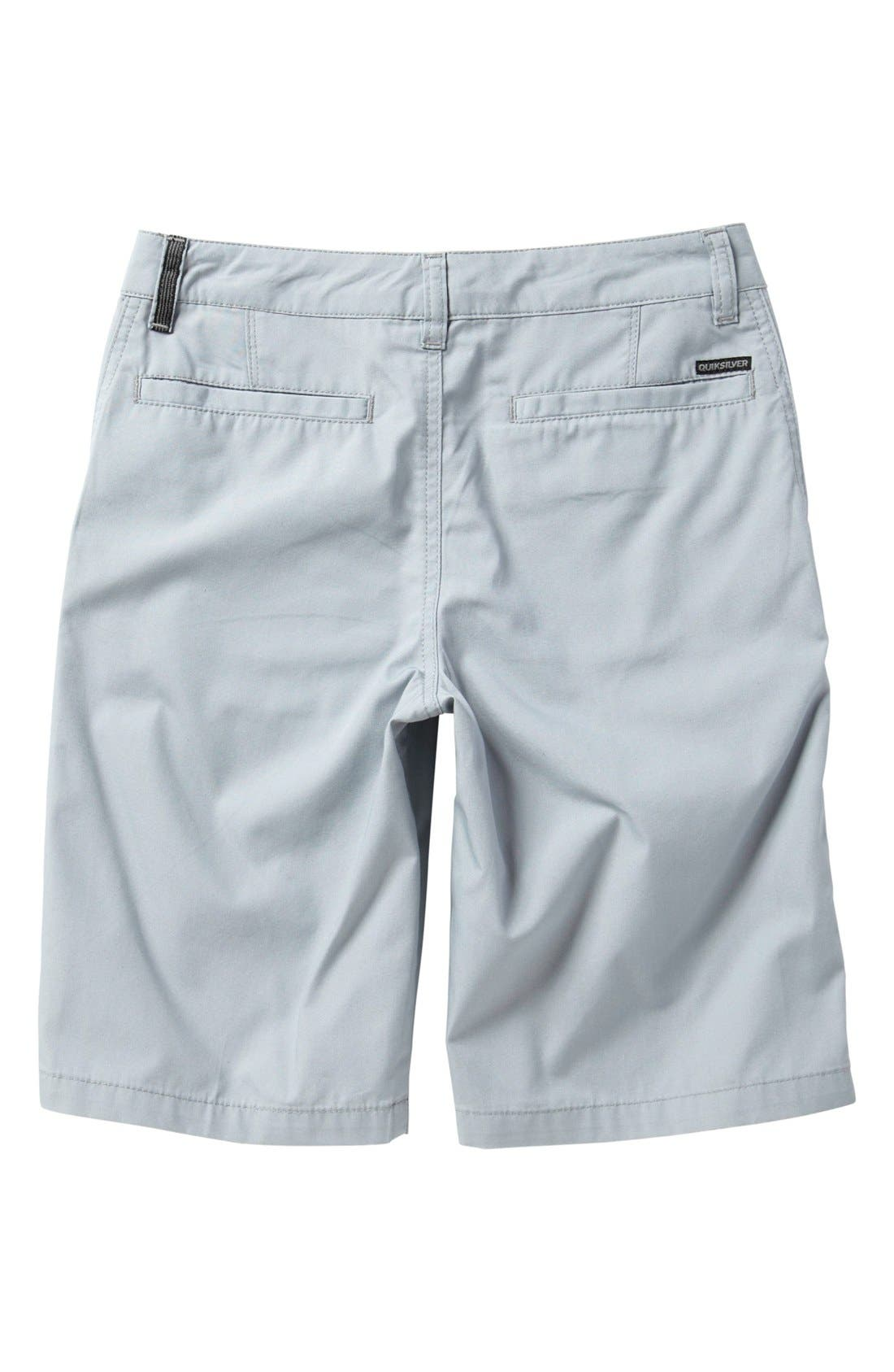 Alternate Image 2  - Quiksilver 'Rockefeller' Shorts (Big Boys)