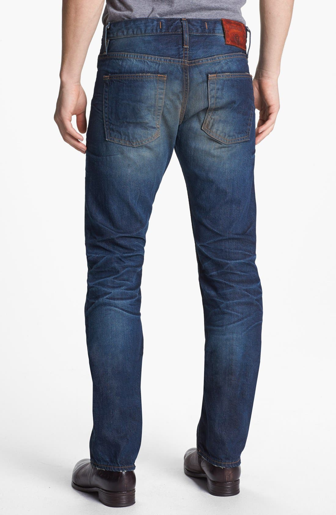 Alternate Image 3  - Asbury Park '1874 Monte Carlo' Straight Leg Selvedge Jeans (Ocean Grove)