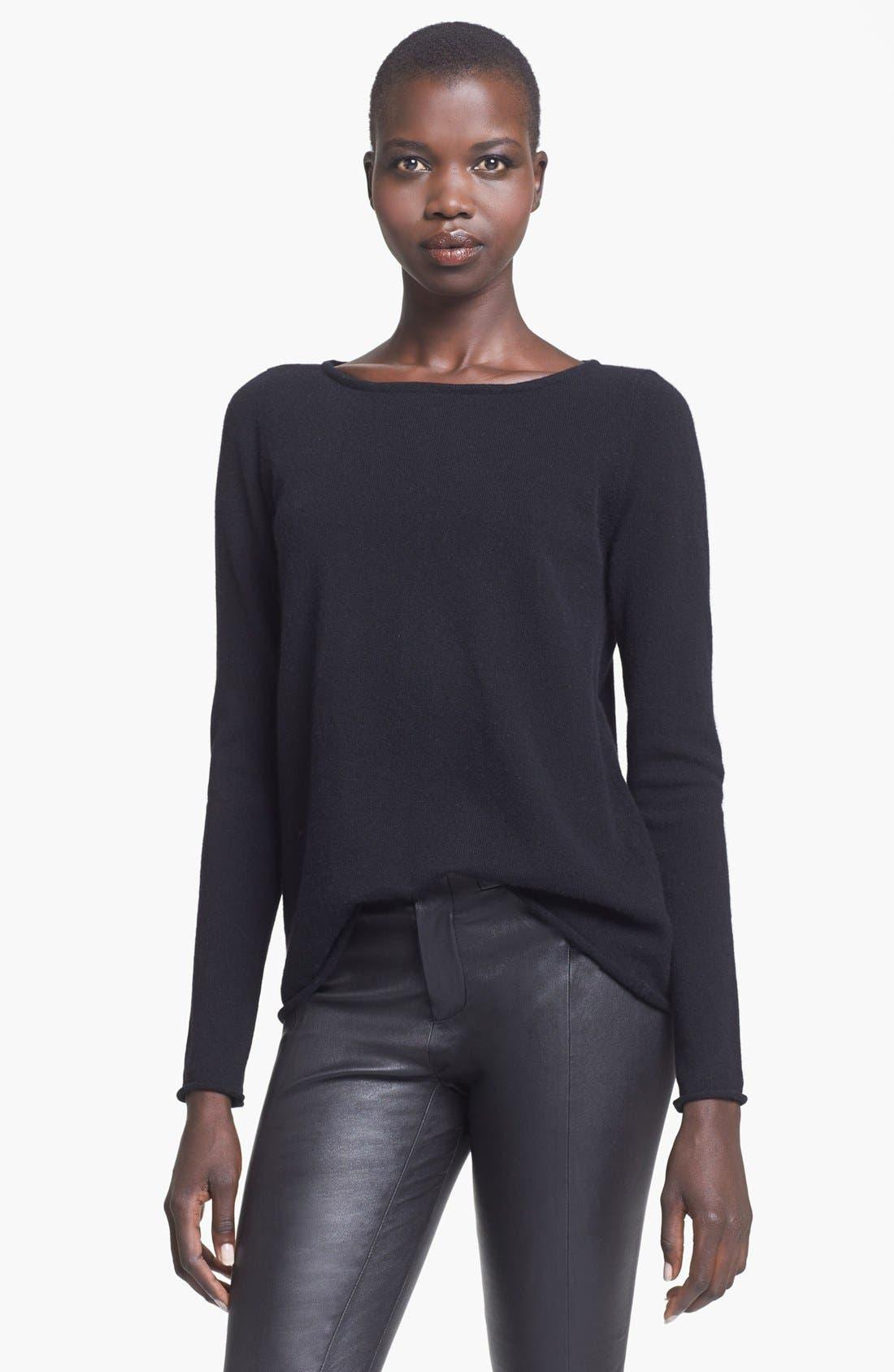 Alternate Image 1 Selected - autumn cashmere Boatneck Cashmere Sweater