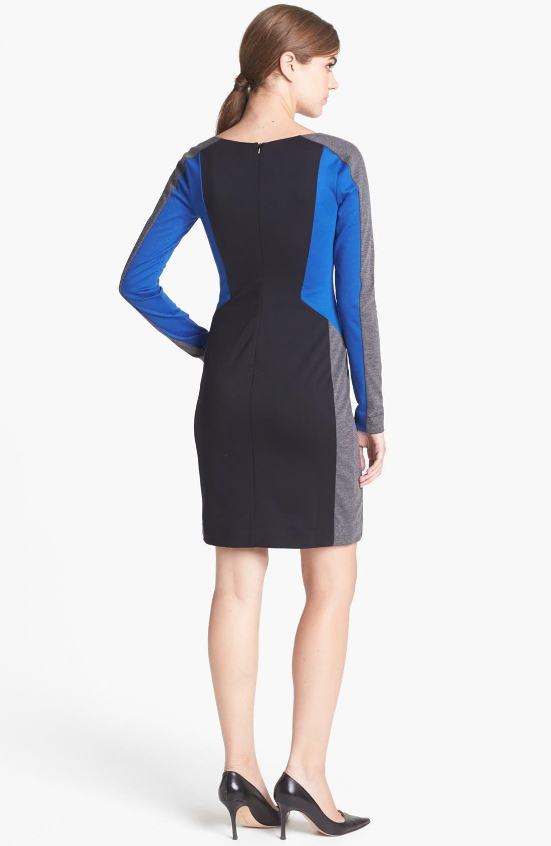 Alternate Image 2  - Trouvé Colorblock Sheath Dress